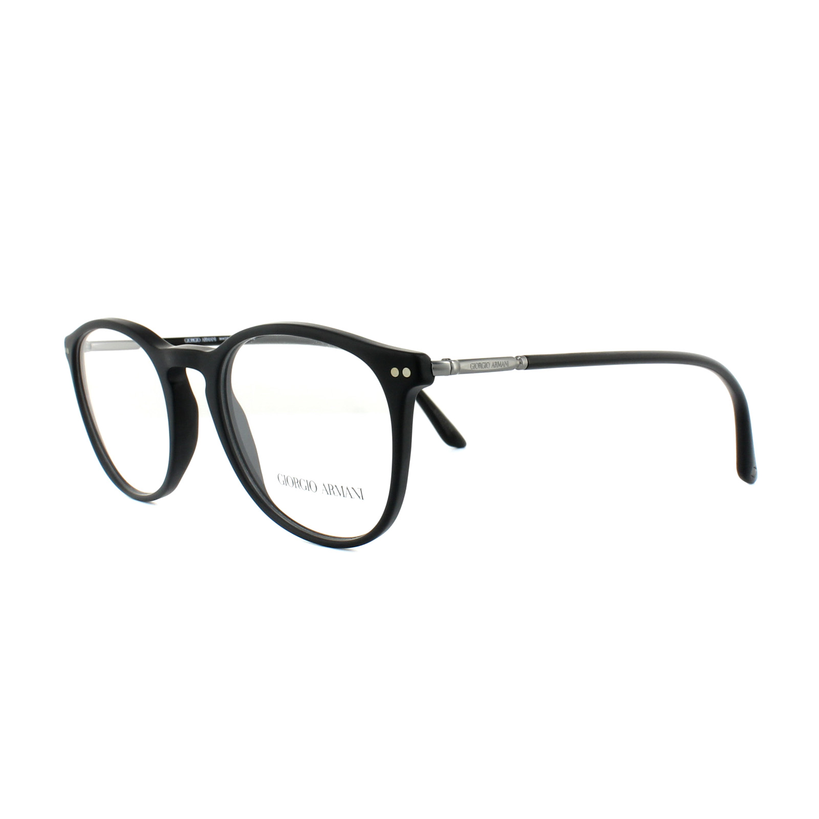 16870825291 Sentinel Giorgio Armani Glasses Frames AR 7125 5042 Matte Black Mens 50mm
