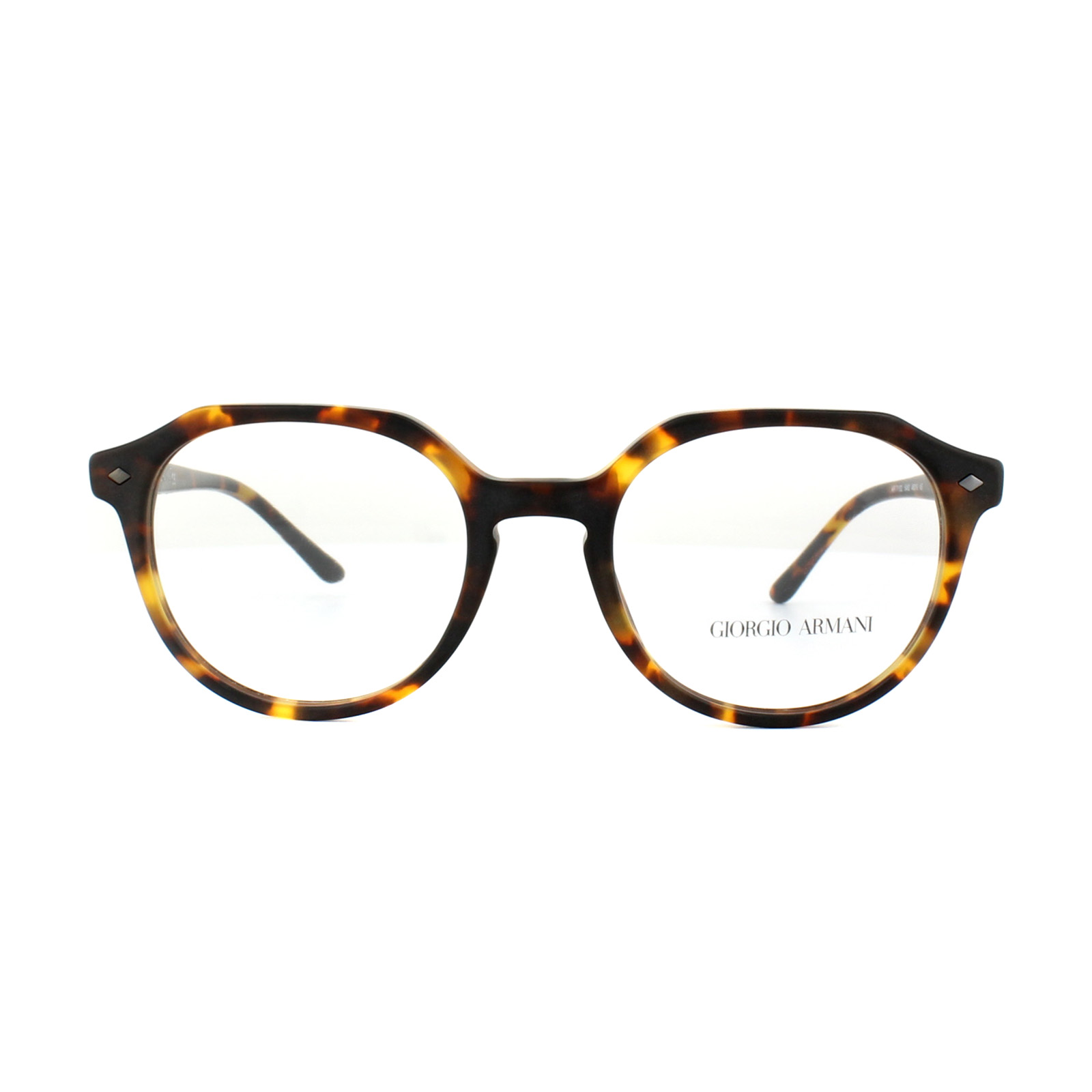 Giorgio Armani Glasses Frames AR 7132 5492 Matt Havana Mens 48mm ...