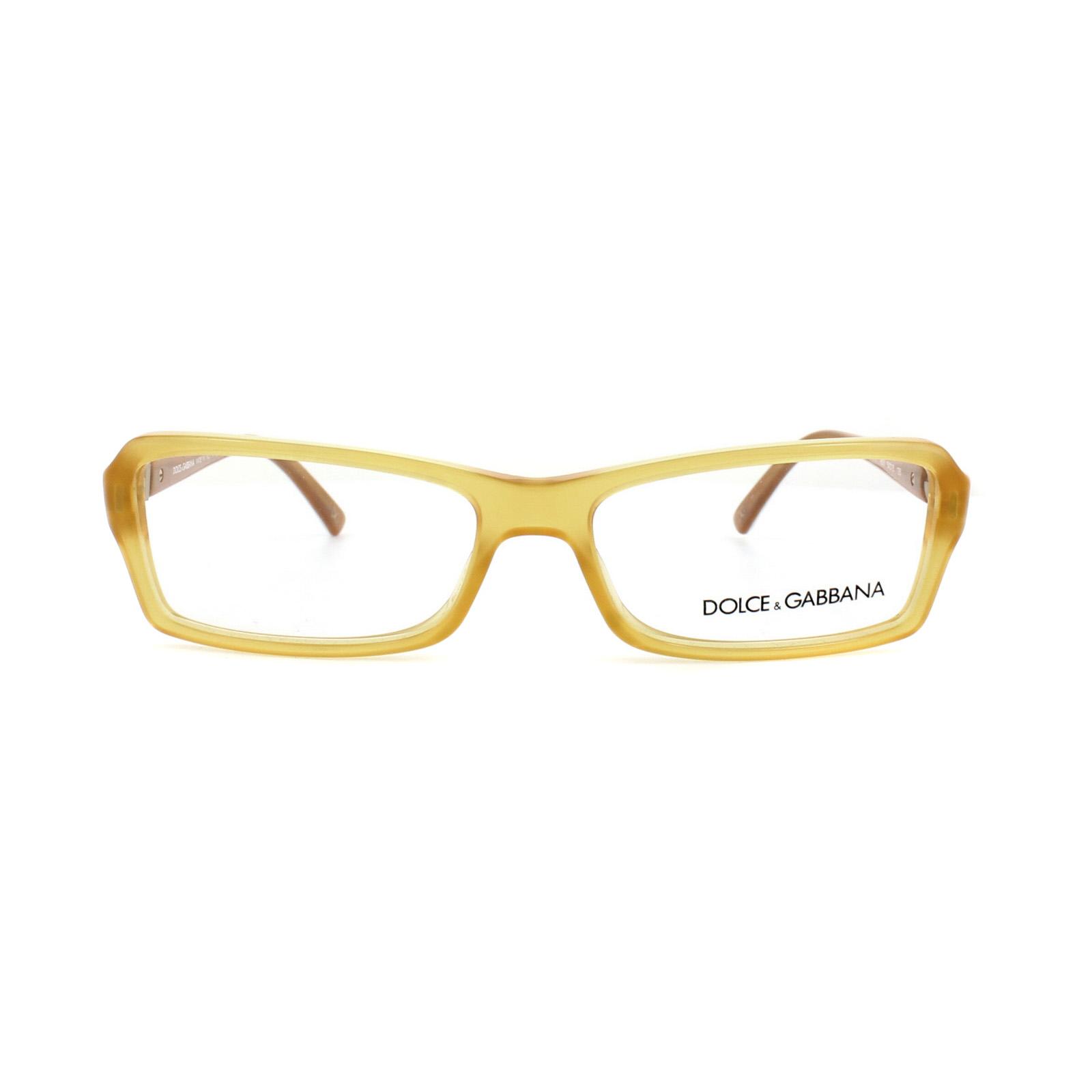 00b7290d5ad2 Sentinel Dolce and Gabbana Glasses Frames DG 3101 1833 Yellow Womens 54mm