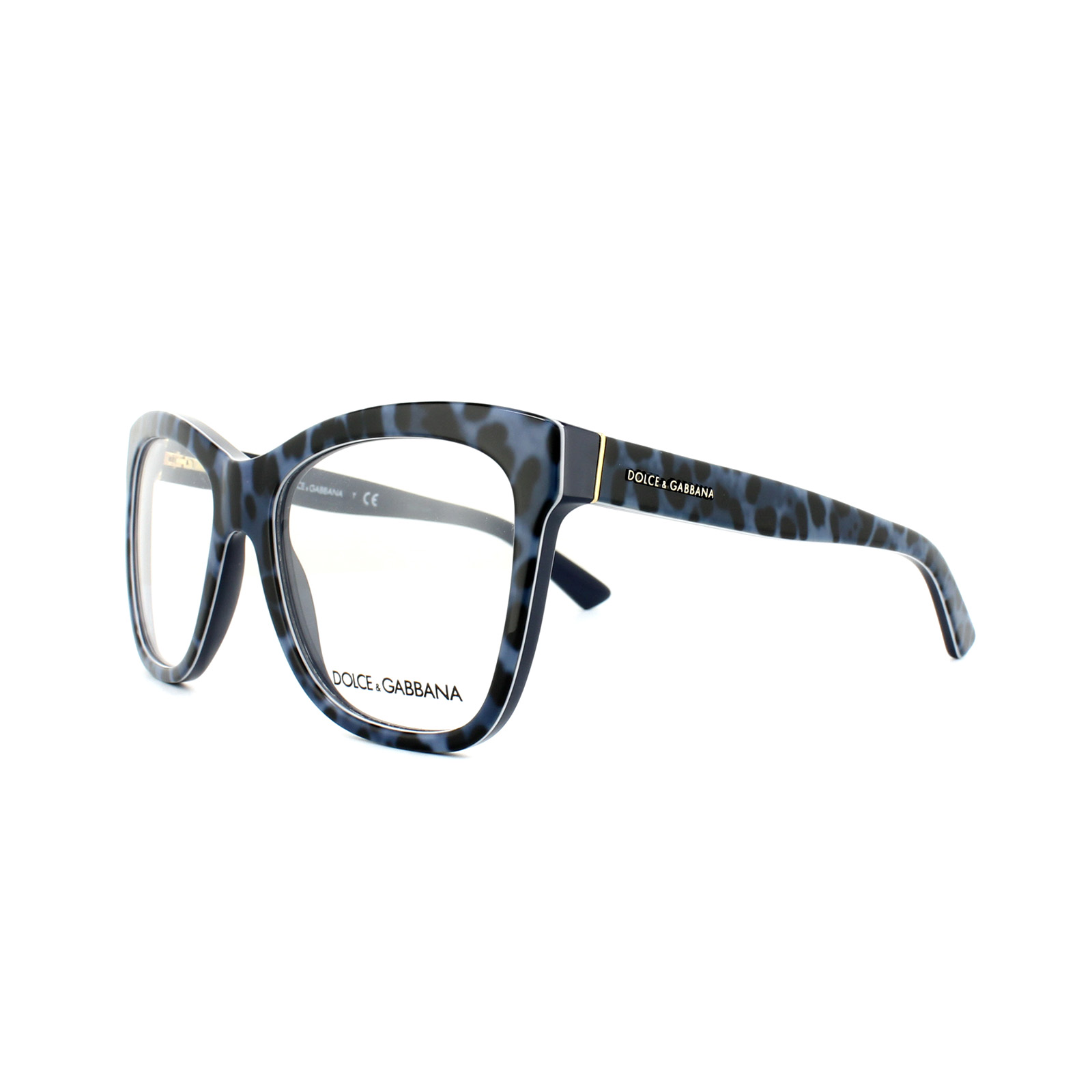 c98469f75ae Dolce and Gabbana Glasses Frames DG 3212 2880 Enchanted Blue Womens ...
