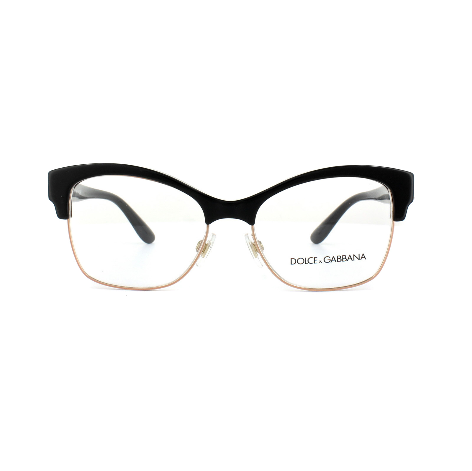 f83a491ff9f0 Sentinel Dolce and Gabbana Glasses Frames DG 3272 501 Black Womens 52mm