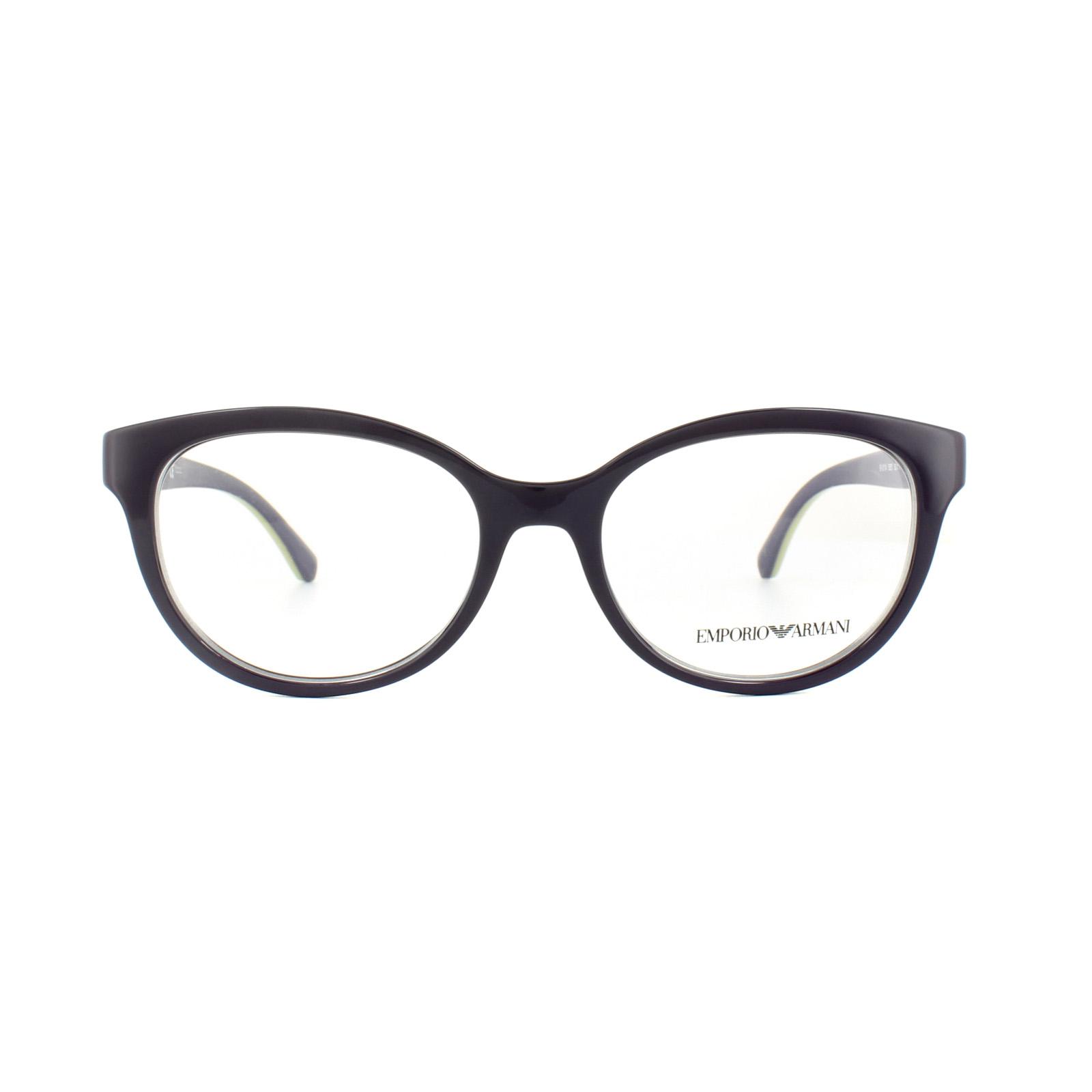 sentinel emporio armani glasses frames ea 3104 5560 violet womens 52mm - Emporio Armani Glasses Frames