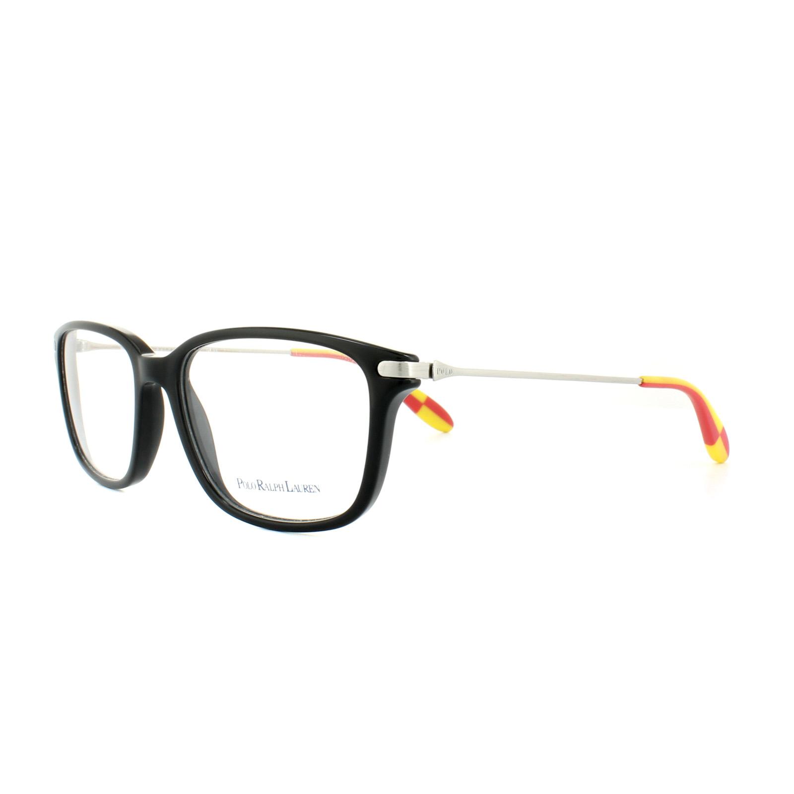 Polo Ralph Lauren Glasses Frames PH 2105 5001 Black Mens 53mm ...