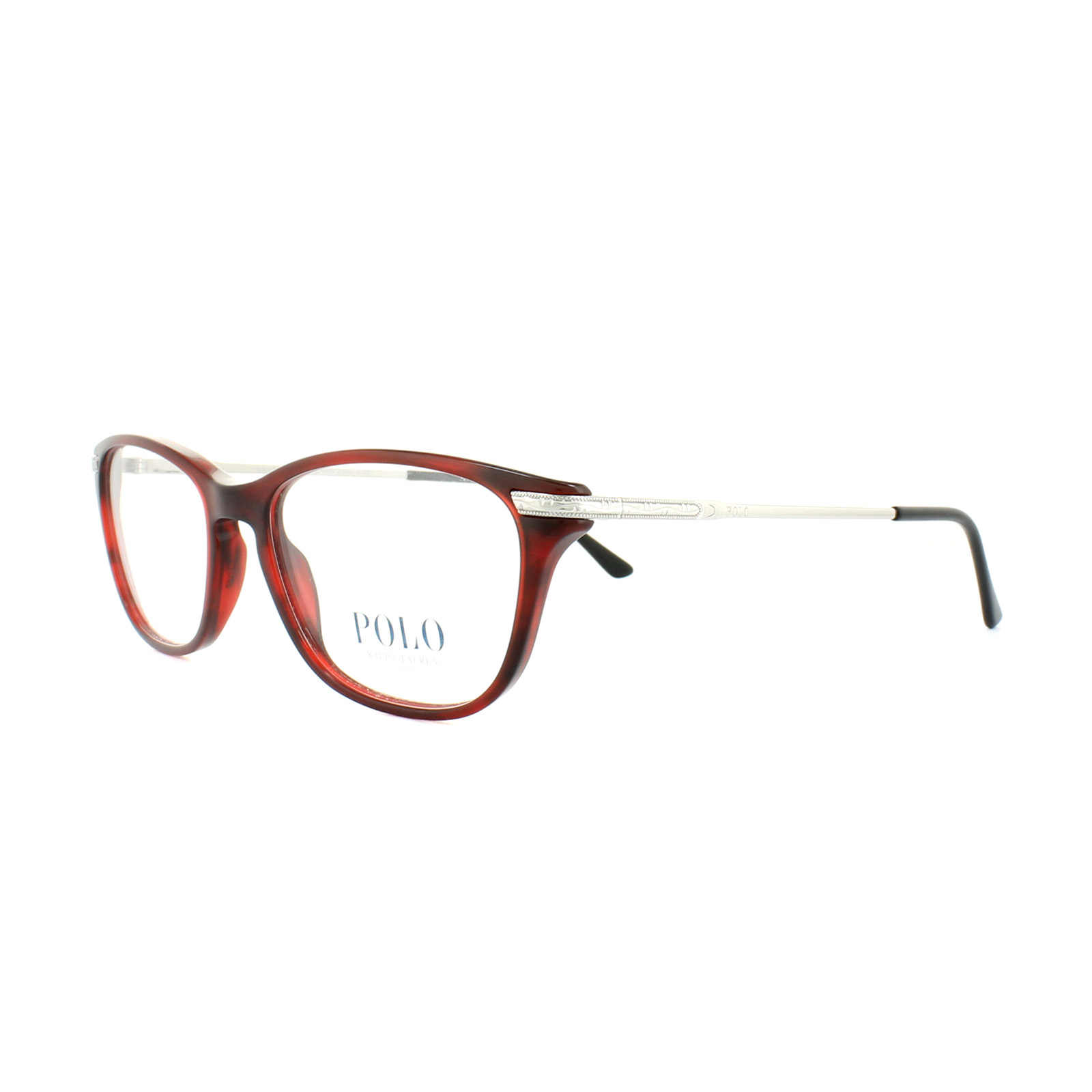 88656afa768 Sentinel Polo Ralph Lauren Glasses Frames PH 2135 5533 Havana Red Womens  53mm