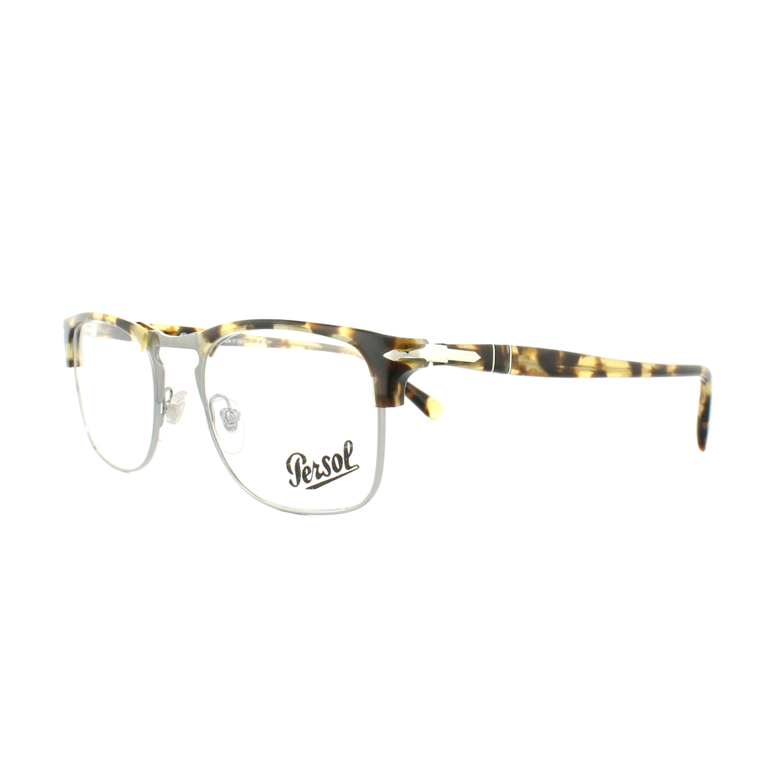 90e426ce3912e Sentinel Persol Glasses Frames PO 8359V 1056 Brown Beige Tortoise Mens 51mm