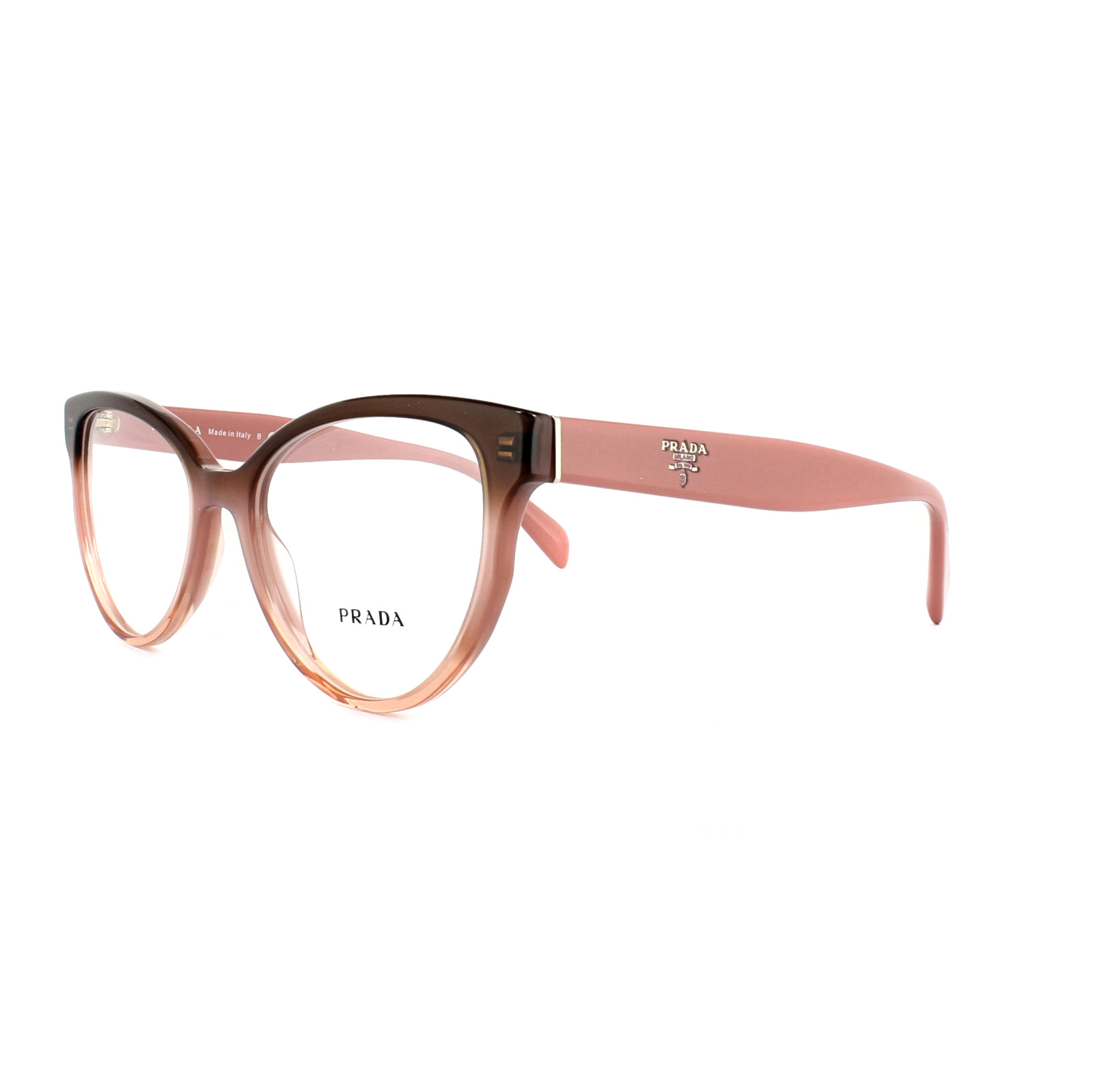 Prada Glasses Frames PR 01UV VX51O1 Gradient Bordeaux Womens 52mm ...