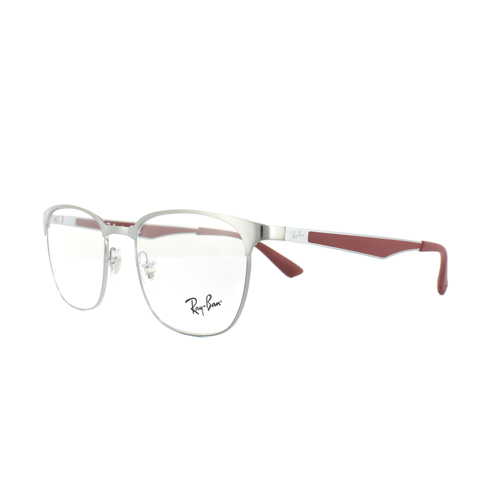 c598fa0473 Sentinel Ray-Ban Glasses Frames RX 6356 2880 Brushed Gunmetal Mens Womens  52mm