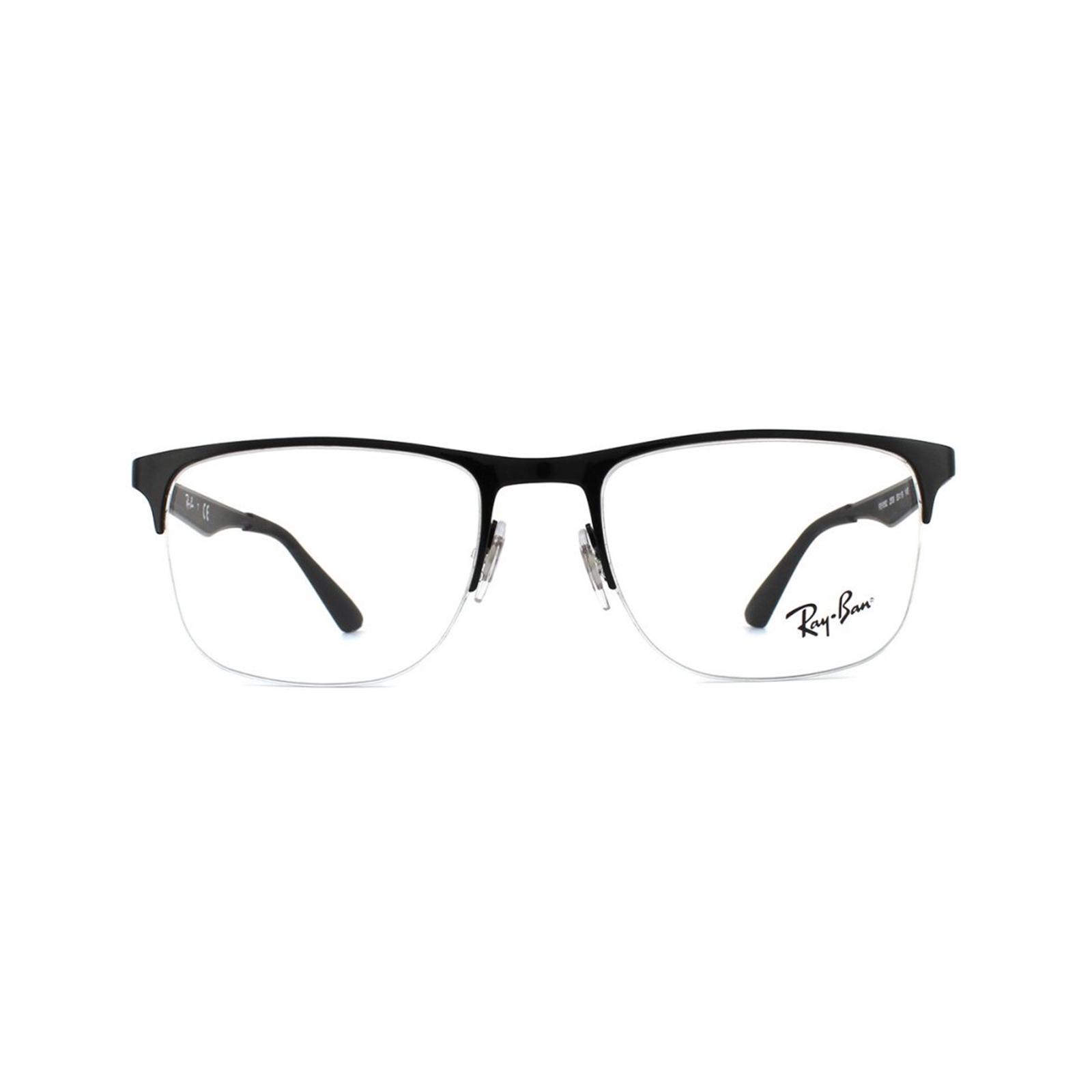 c0338c60a7 Sentinel Ray-Ban Glasses Frames RX 6362 2509 Shiny Black Mens 53mm