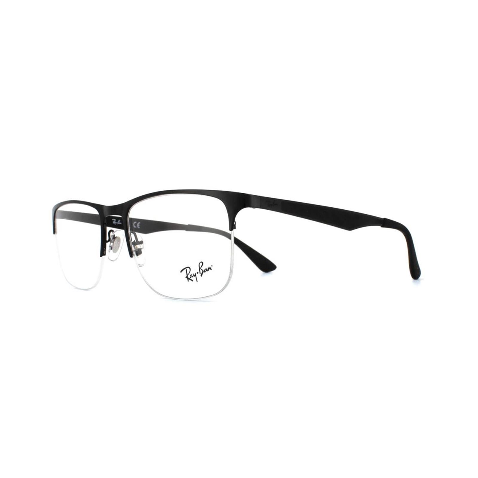 5ed5925632c Sentinel Ray-Ban Glasses Frames RX 6362 2509 Shiny Black Mens 53mm