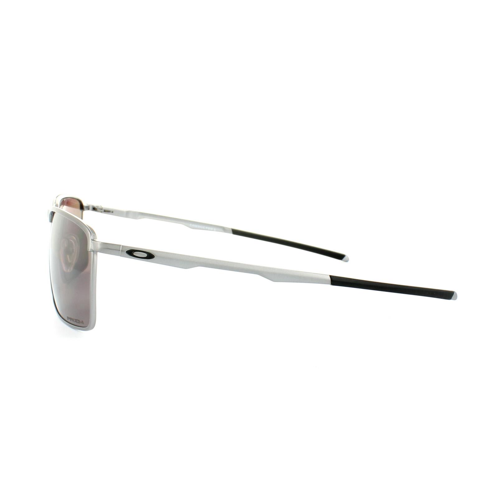 486cc99d15a Sentinel Oakley Sunglasses Conductor 6 OO4106-07 Lead Prizm Daily Polarized
