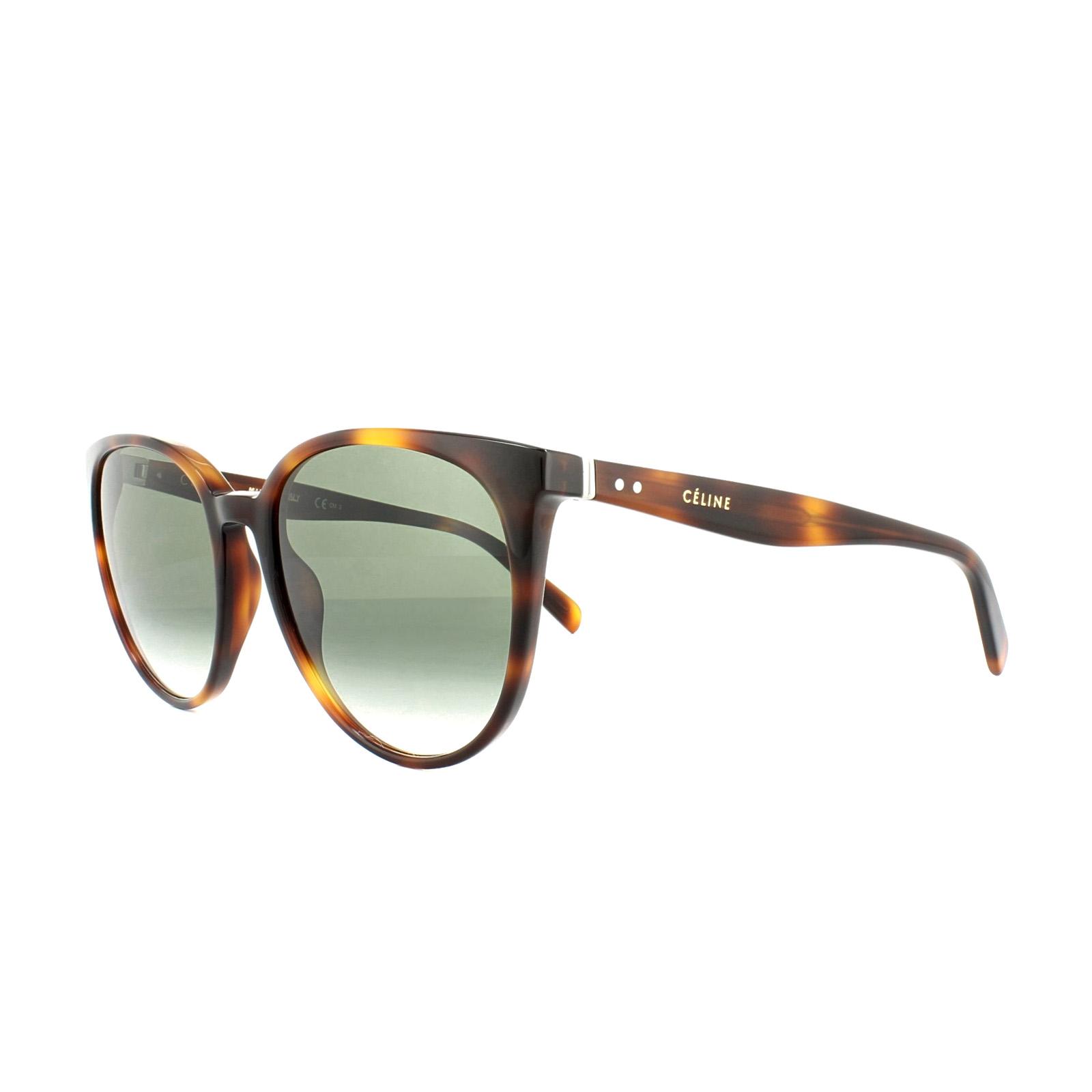 d86762960f70 Sentinel Celine Sunglasses 41068 S Thin Mary 05L XM Havana Green Gradient