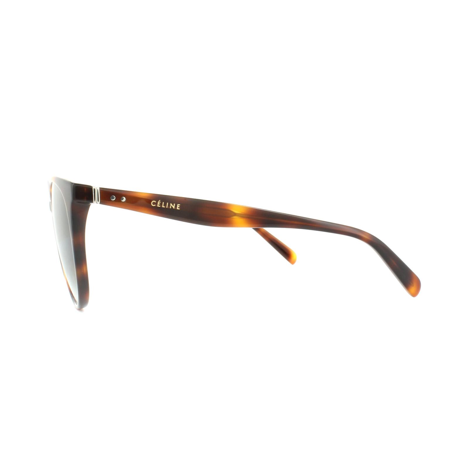 05de1a3143f Sentinel Celine Sunglasses 41068 S Thin Mary 05L XM Havana Green Gradient