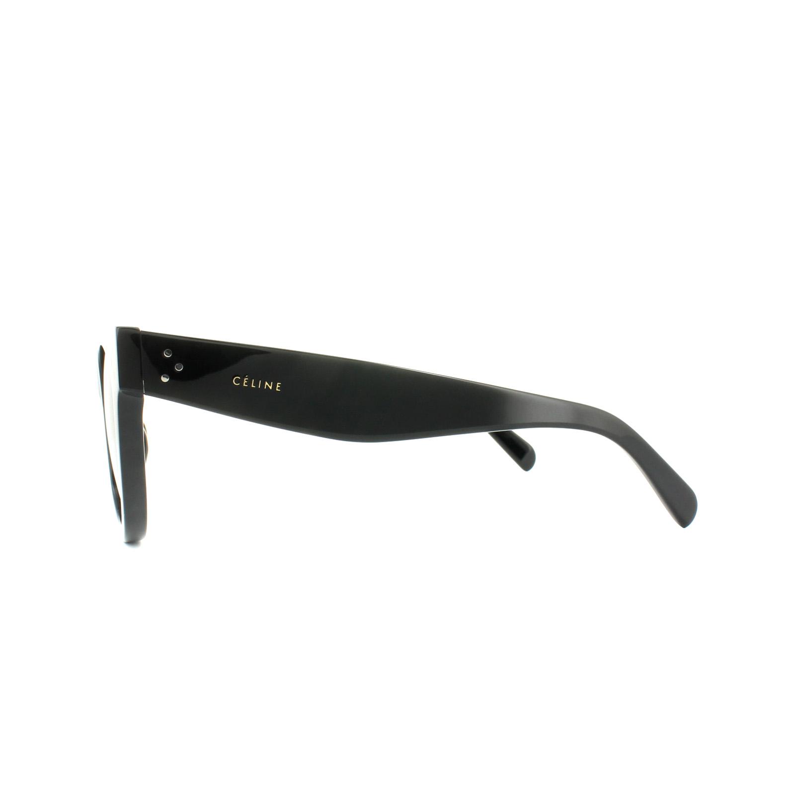 Sentinel Celine Sunglasses 41053/S Baby Audrey 807 1E Black Grey Green