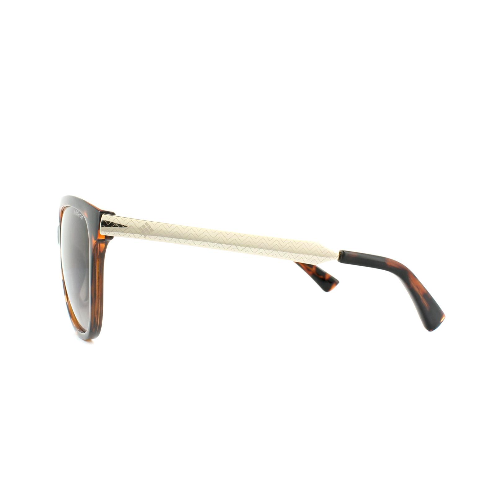 fbce92ee8b Sentinel Polaroid Sunglasses PLD 5016 S LLY 94 Havana Gold Brown Gradient  Polarized