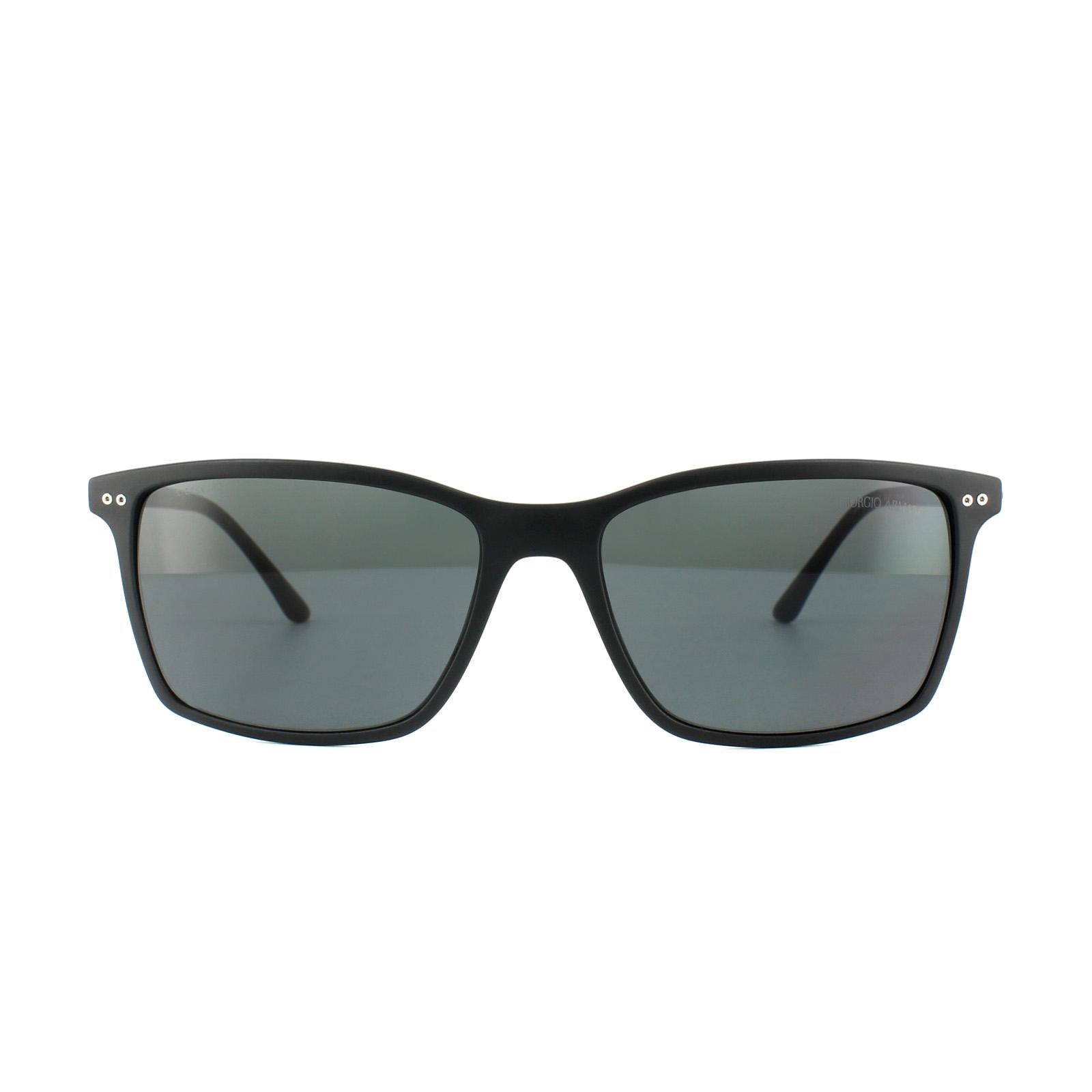 ba3ba2d967dc Sentinel Thumbnail 1. Sentinel Giorgio Armani Sunglasses AR8045 504287 Matt  Black Grey. Sentinel Thumbnail 2