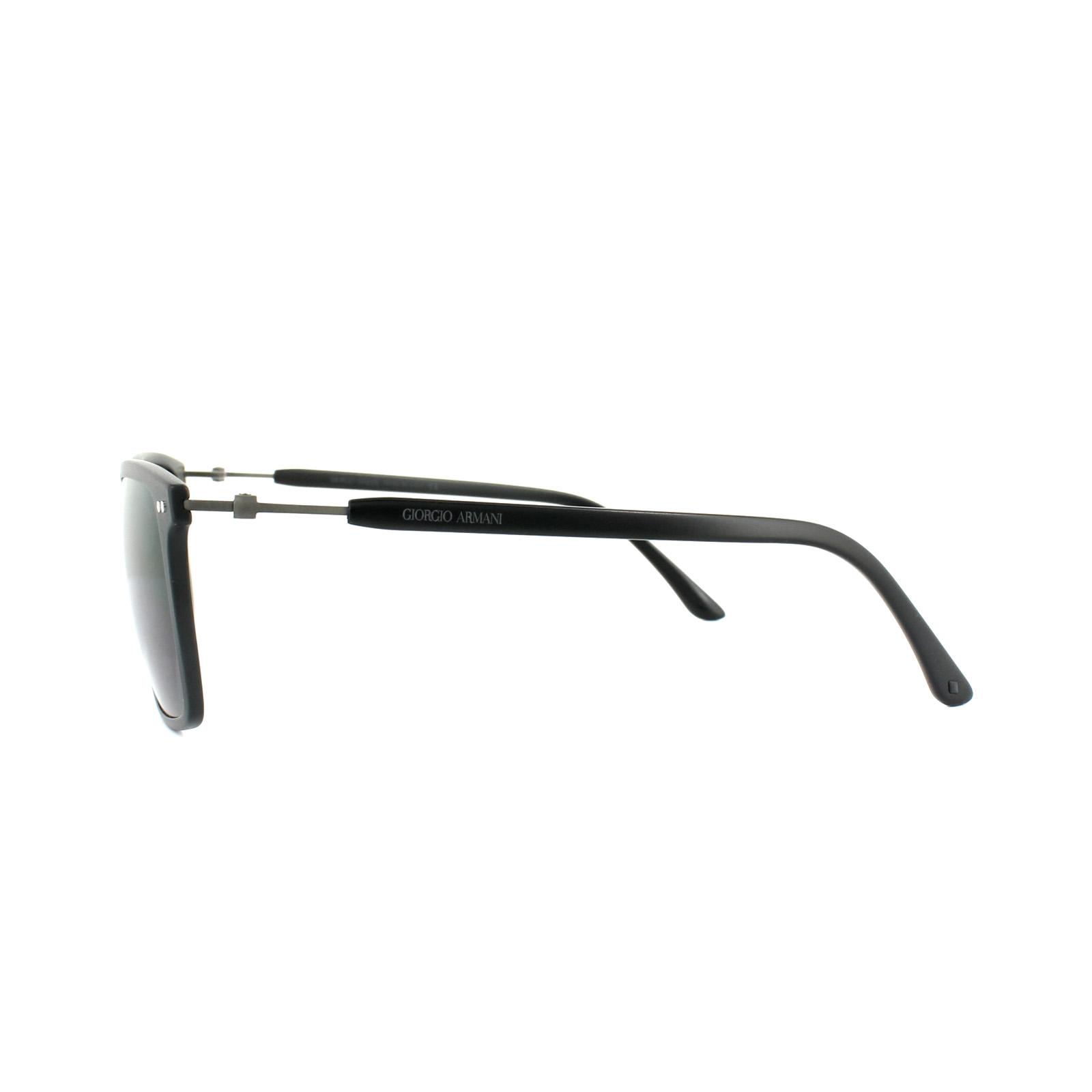 0477130917cd Sentinel Thumbnail 2. Sentinel Giorgio Armani Sunglasses AR8045 504287 Matt  Black Grey. Sentinel Thumbnail 3