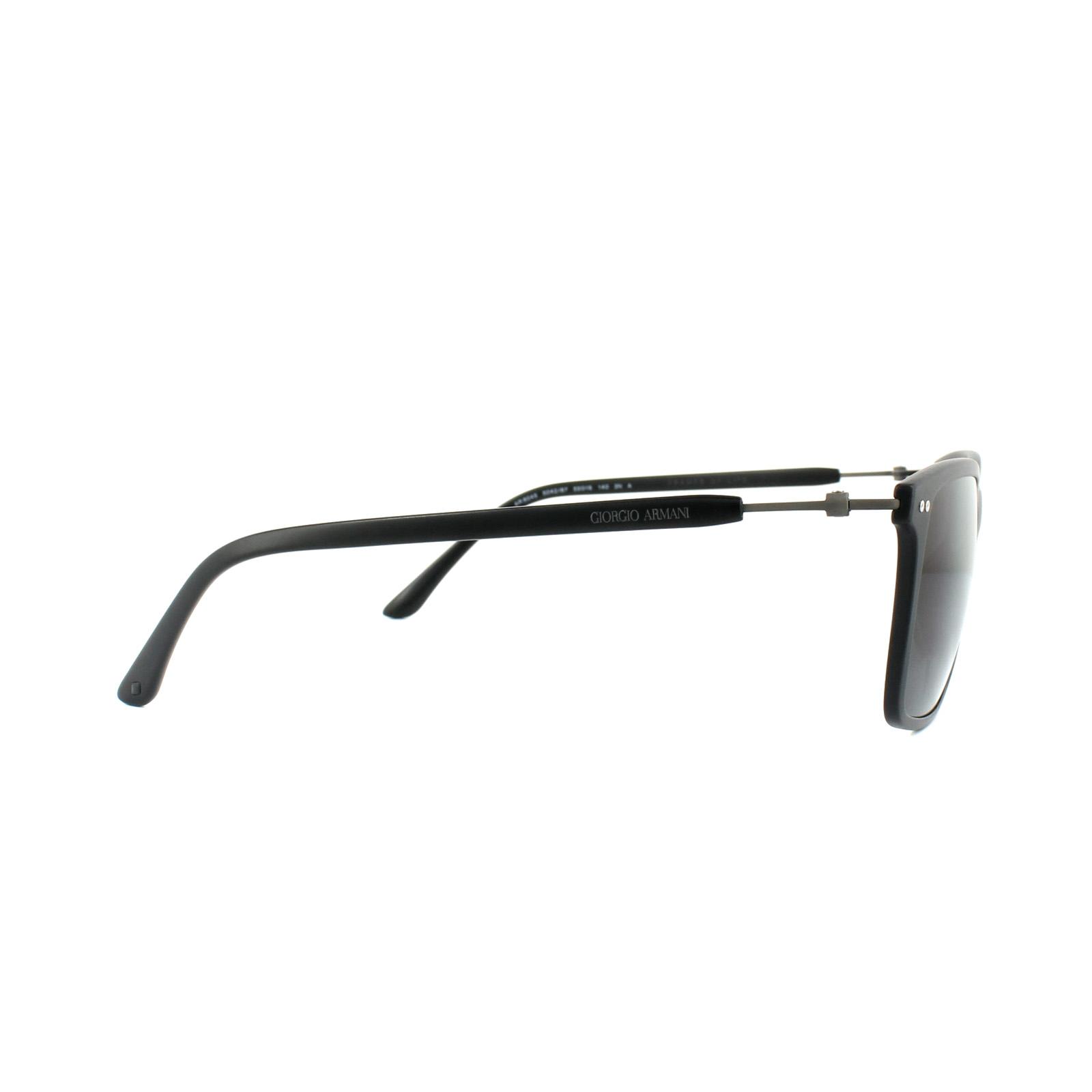 db62a307e78f Sentinel Giorgio Armani Sunglasses AR8045 504287 Matt Black Grey. Sentinel  Thumbnail 4
