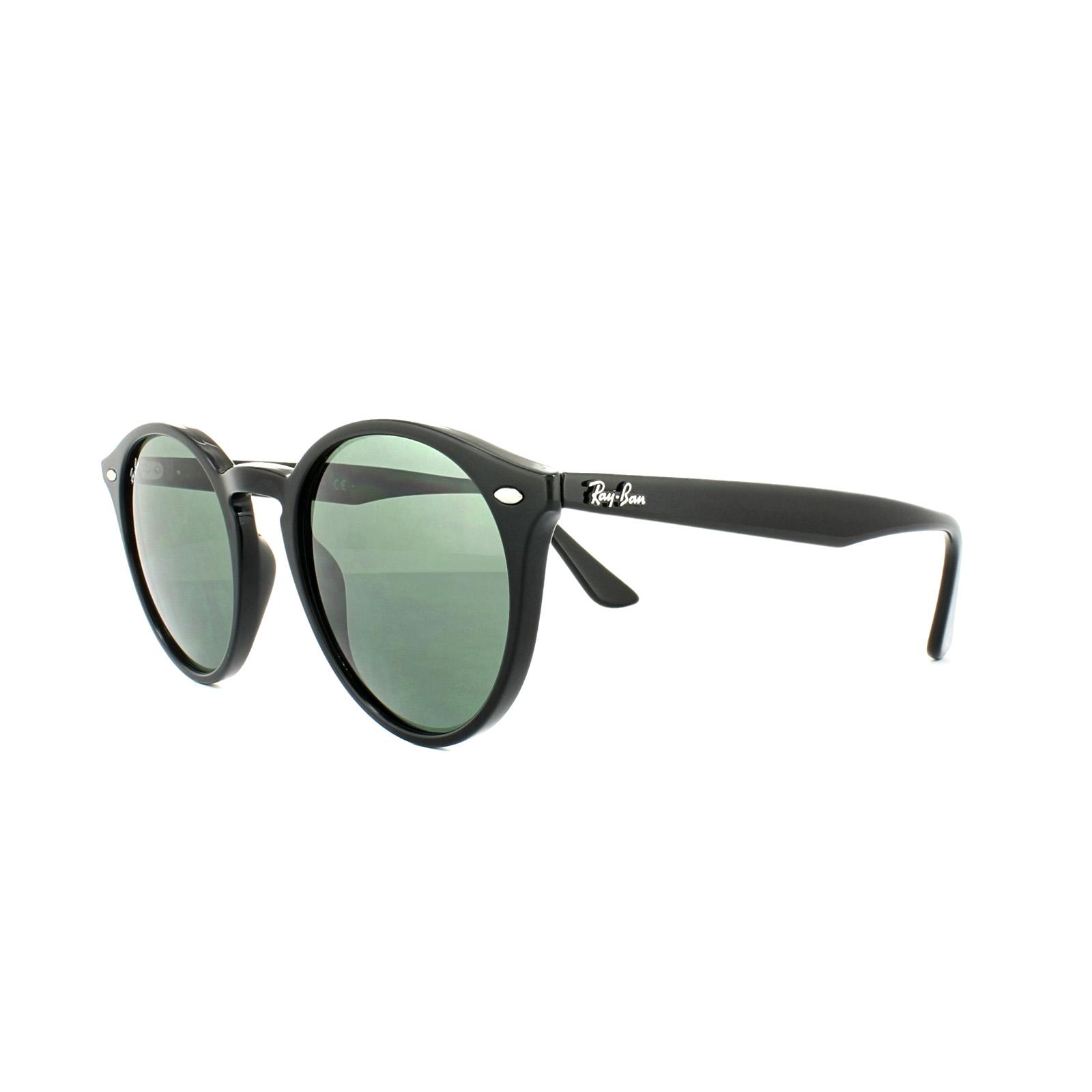 76e3905fe6670a Ray-Ban Sunglasses 2180 601 71 Black Green 51mm 8053672546941