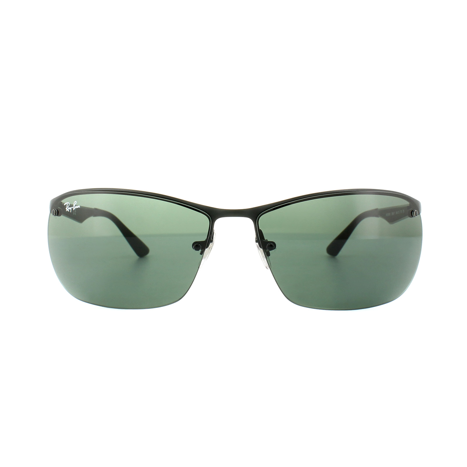 fdd0bcce60 Ray-Ban Sunglasses 3550 006 71 Black Green G-15 8053672633733