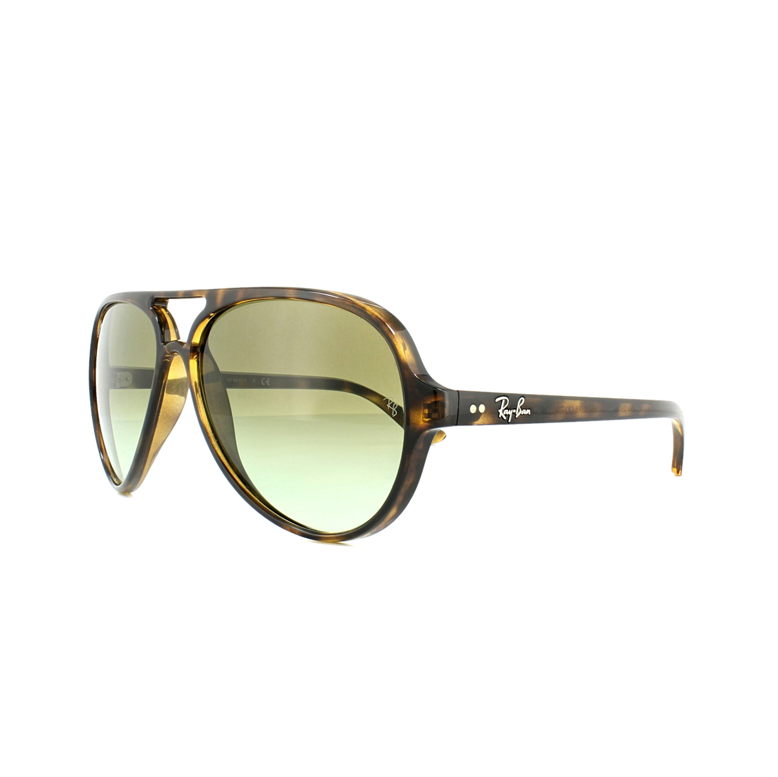 b989fa680e2765 Sentinel Ray-Ban Sunglasses Cats 5000 4125 710 A6 Tortoise Green Gradient