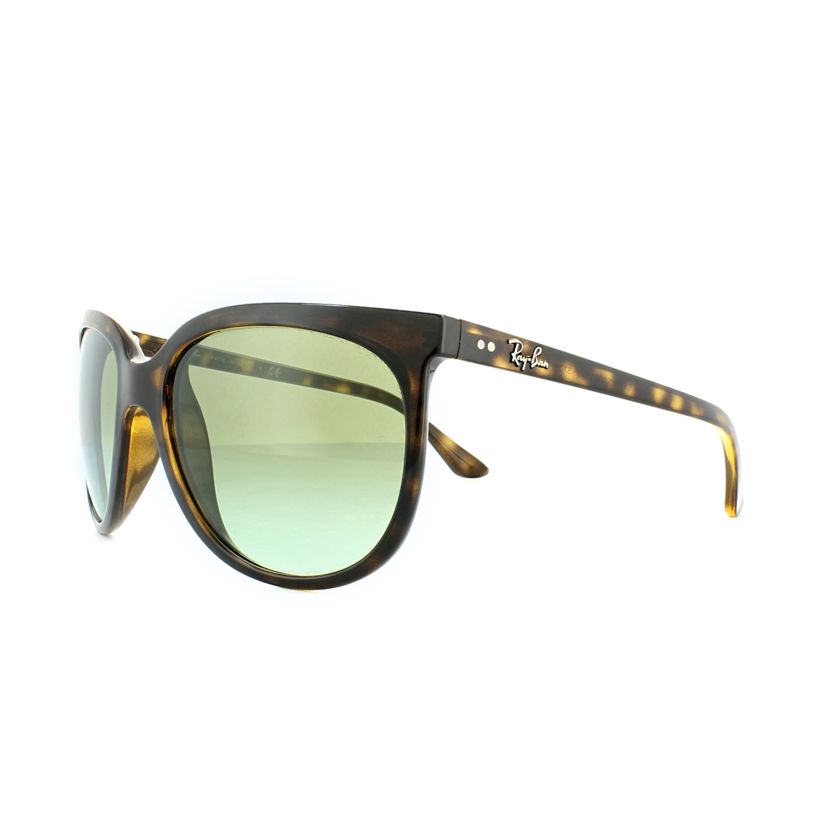 RAY BAN RAY-BAN Damen Sonnenbrille »CATS 1000 RB4126«, braun, 710/A6 - braun/ braun