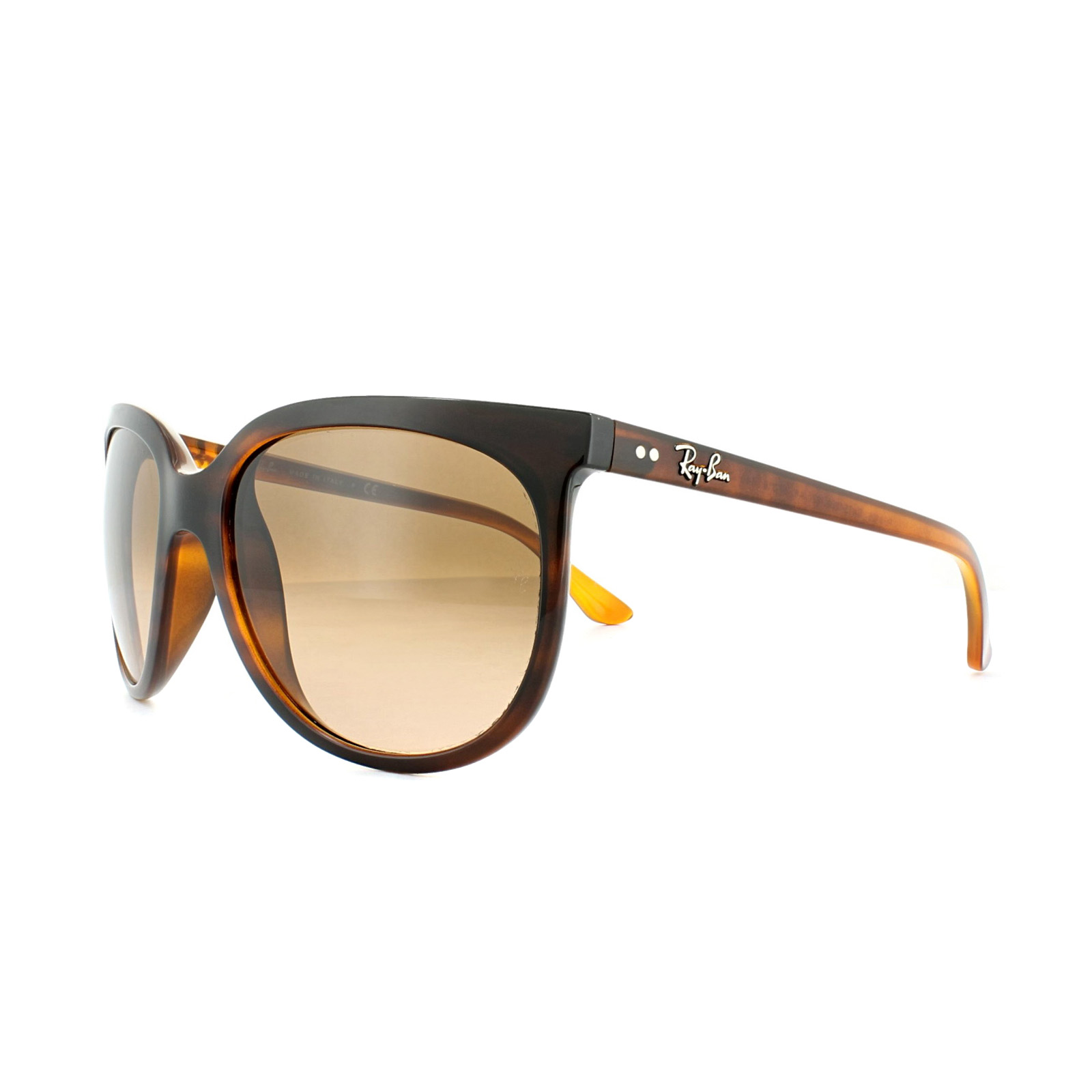e0efe89b14 Sentinel Ray-Ban Sunglasses Cats 1000 4126 820 A5 Tortoise Pink Brown  Gradient