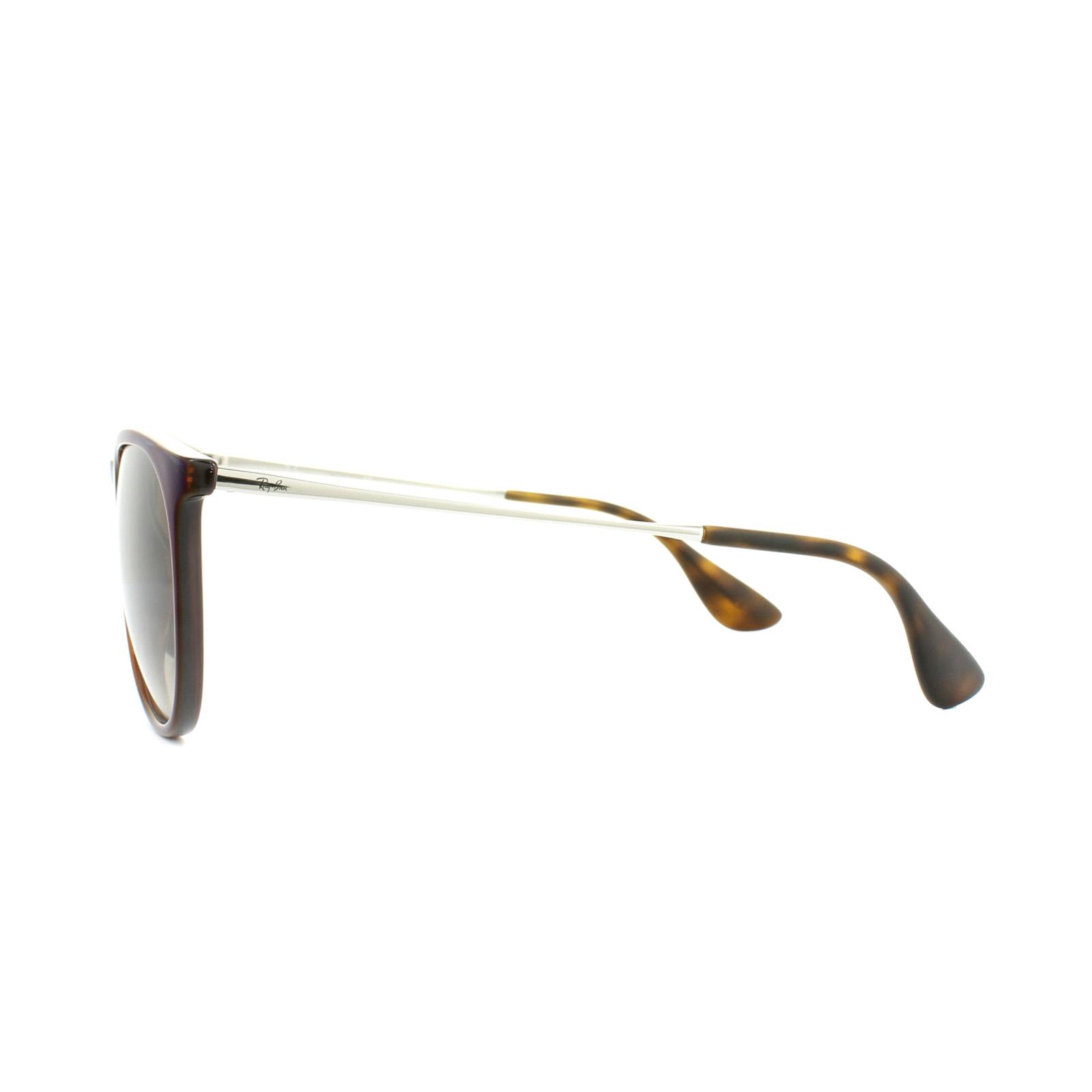 b9ac13778f Sentinel Ray-Ban Sunglasses Erika 4171 631513 Brown Blue Brown Gradient