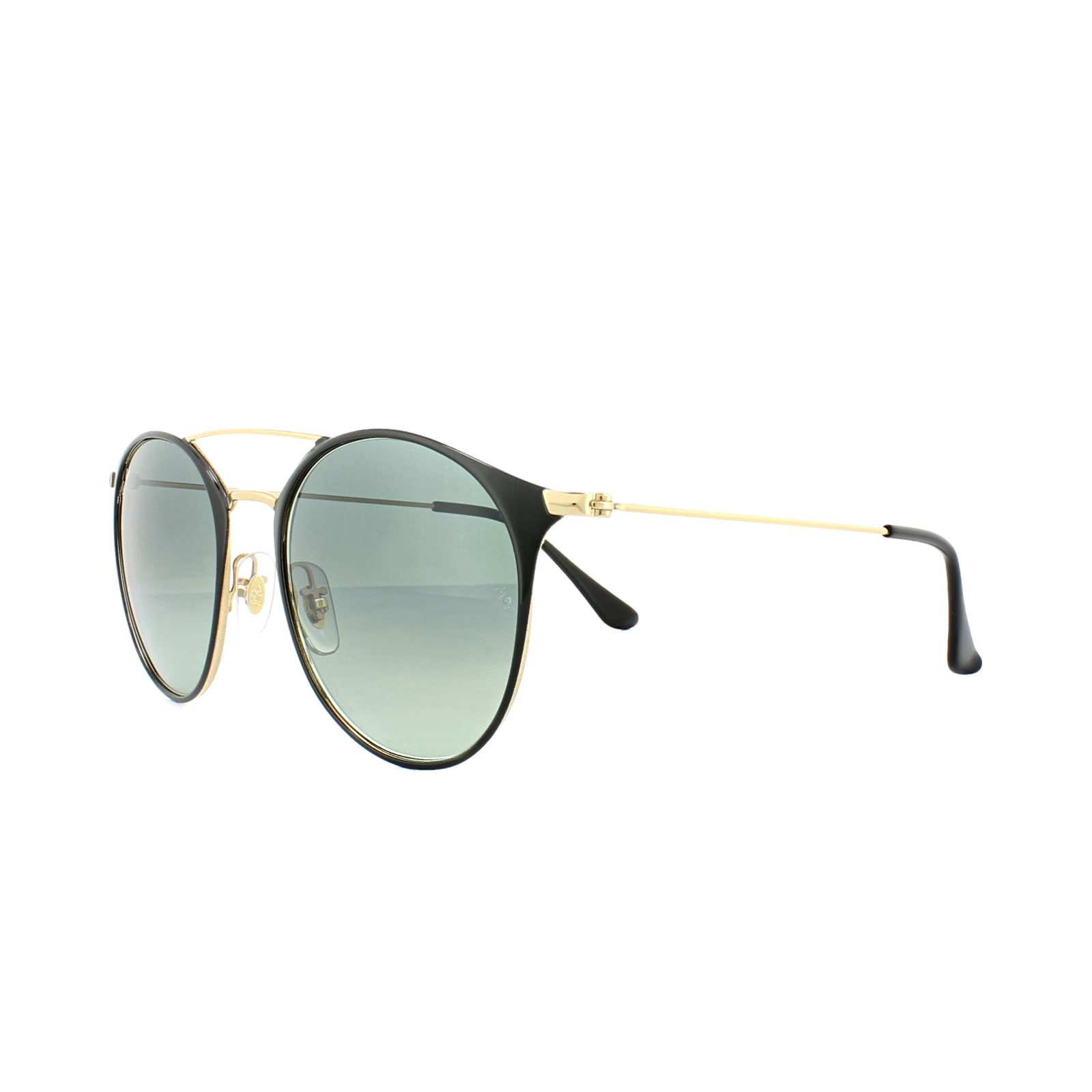 604d005cf9660 Sentinel Ray-Ban Sunglasses 3546 187 71 Black Gold Grey Gradient
