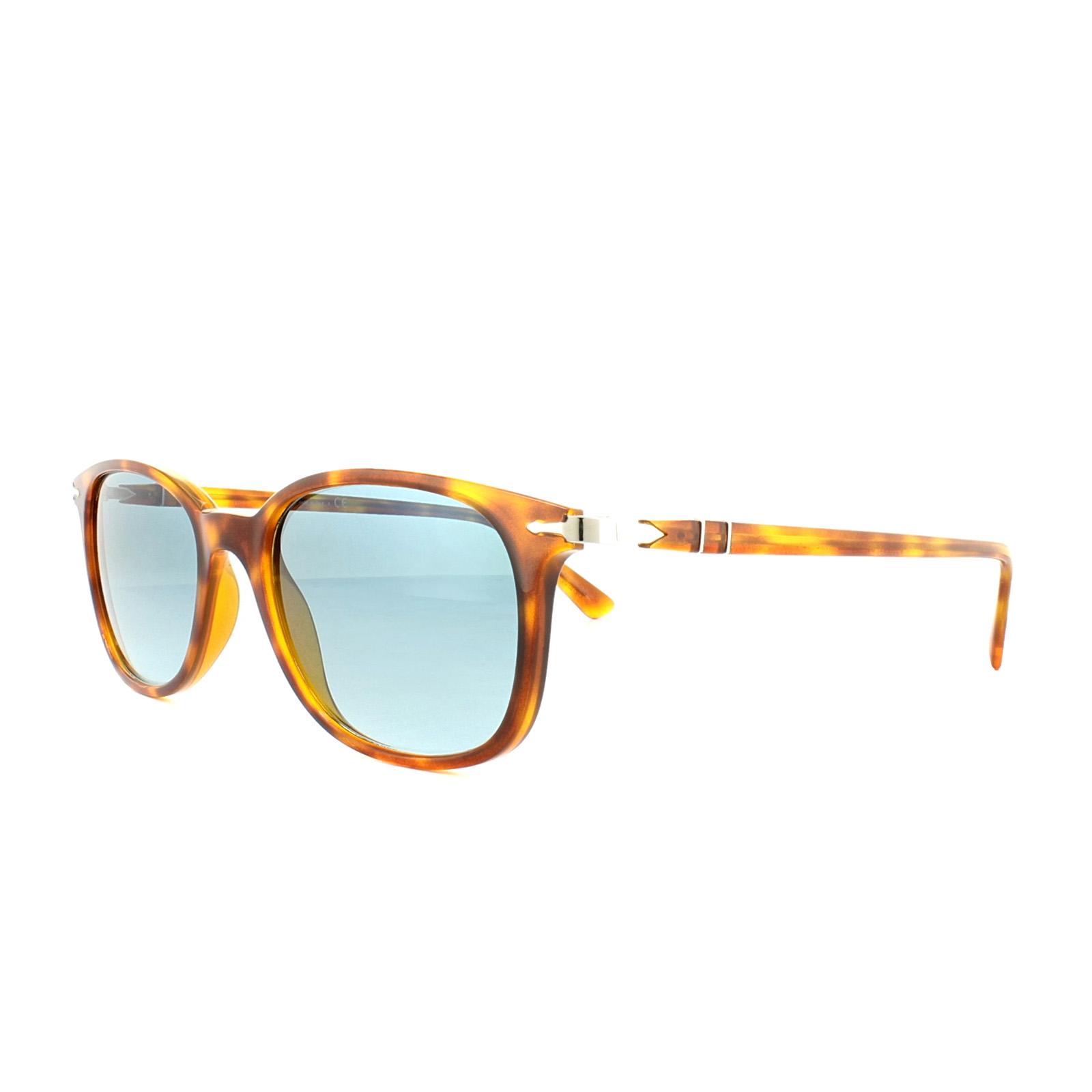 CENTINELA Persol gafas de sol PO3183S 1052Q8 la Habana claro azul azul  gradiente fb7f8714125a