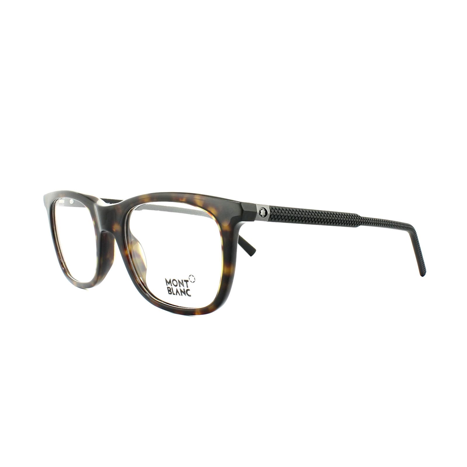 e52d94e88ee Sentinel Mont Blanc Glasses Frames MB0610 056 Brown Tortoise Black