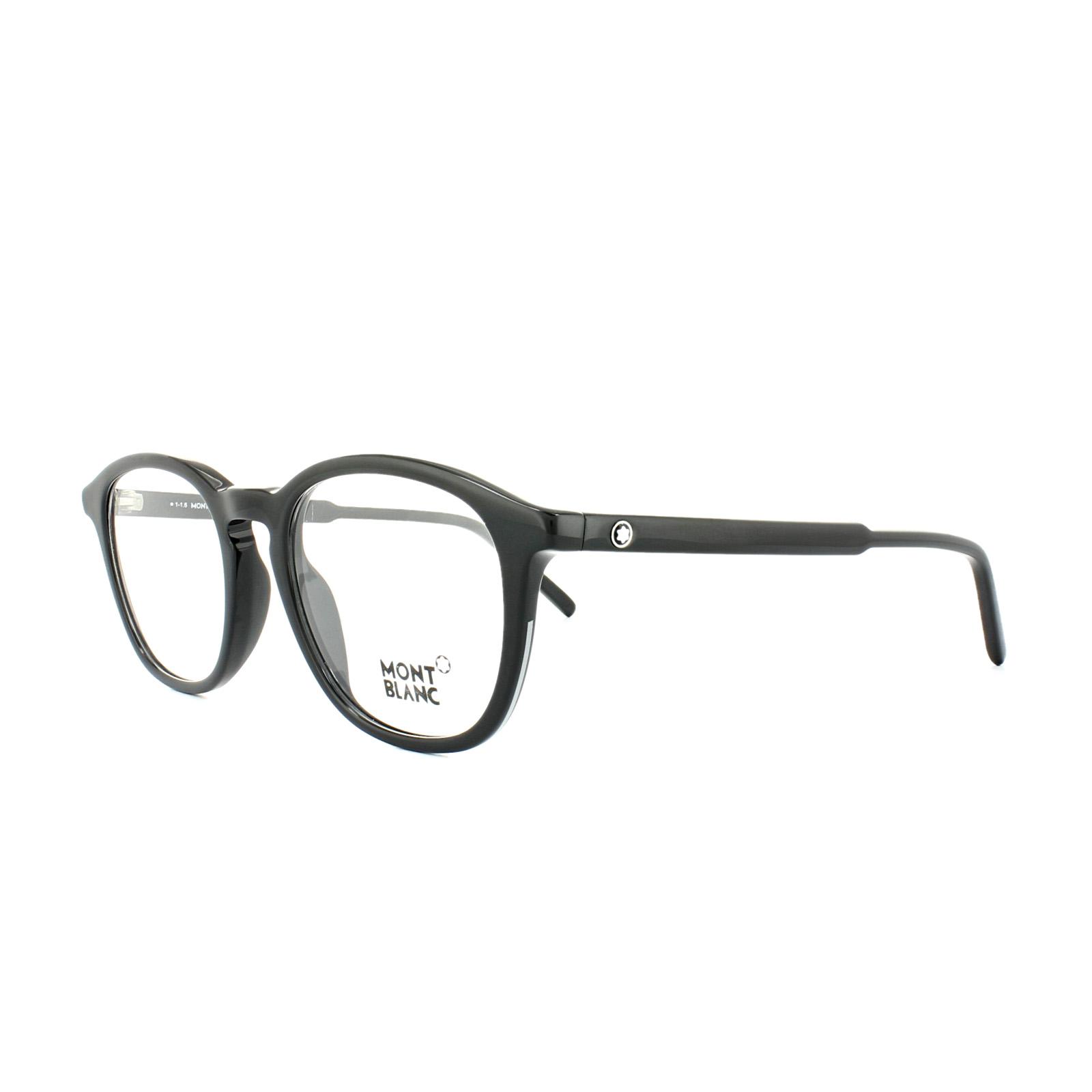 8f41044b0f CENTINELA Mont Blanc gafas de Marcos MB0613 001 negro brillante