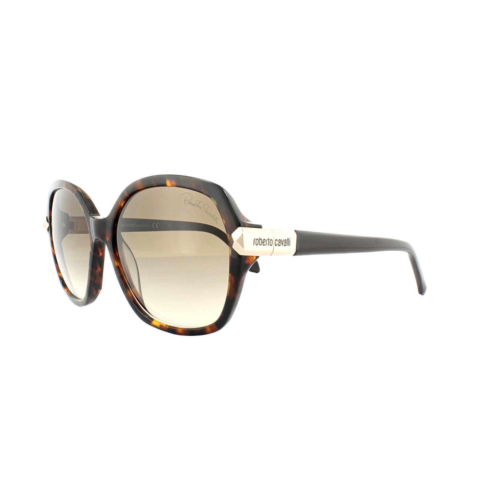 7bd1ac8f02 Sentinel Roberto Cavalli Sunglasses Menkib RC903S 52G Dark Havana Gold  Brown Gradient