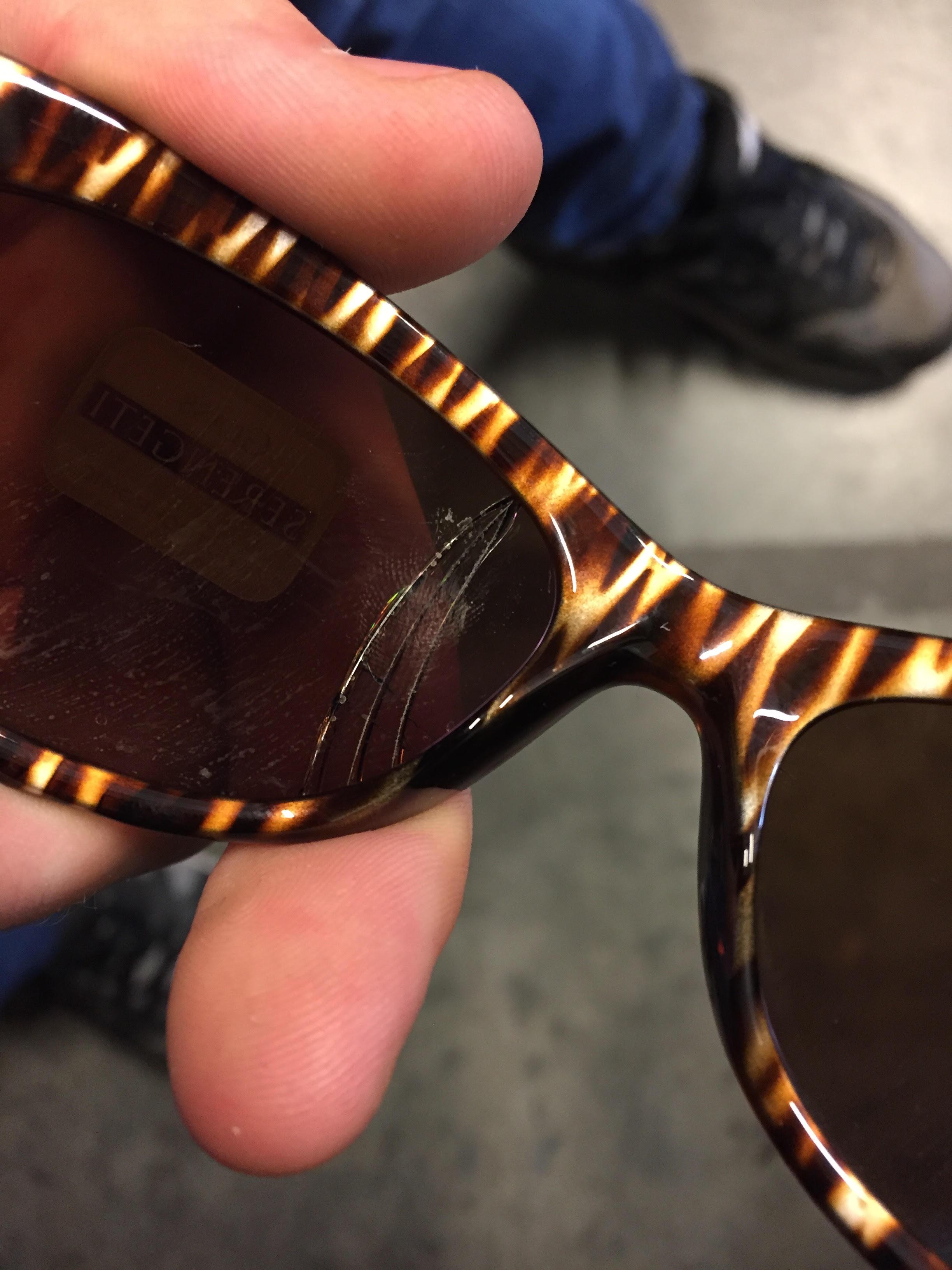Serengeti Sunglasses Bella 7630 Bronze Zebra Drivers Gold Mirror Polarized