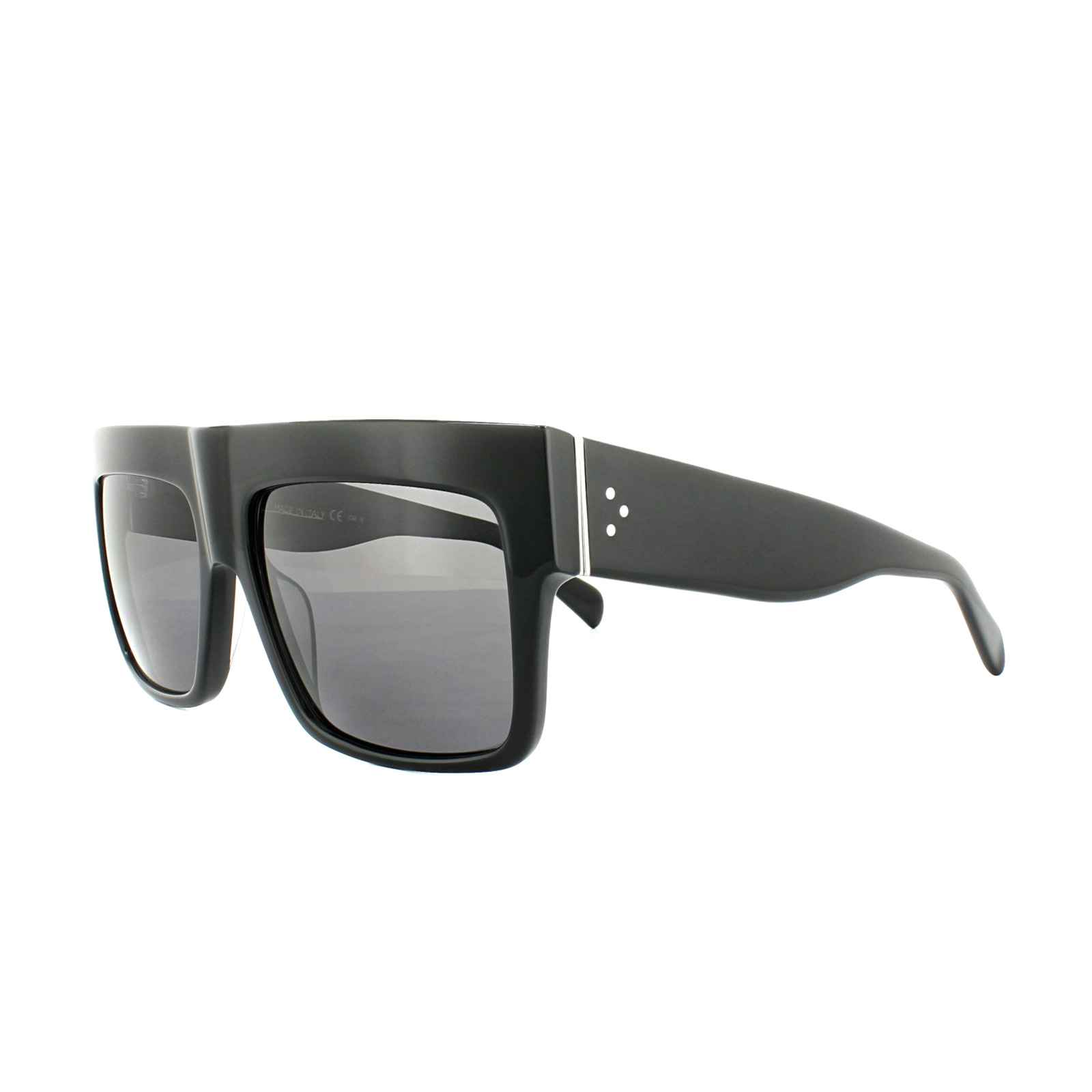 a35a669302e1 Sentinel Celine Sunglasses 41756 S ZZ Top 807 3H Black Grey Polarized Kim  Kardashian