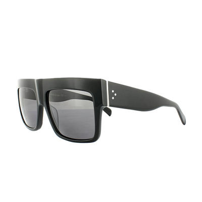 Celine Sunglasses 41756/S ZZ Top 807 3H Black Grey Polarized Kim Kardashian