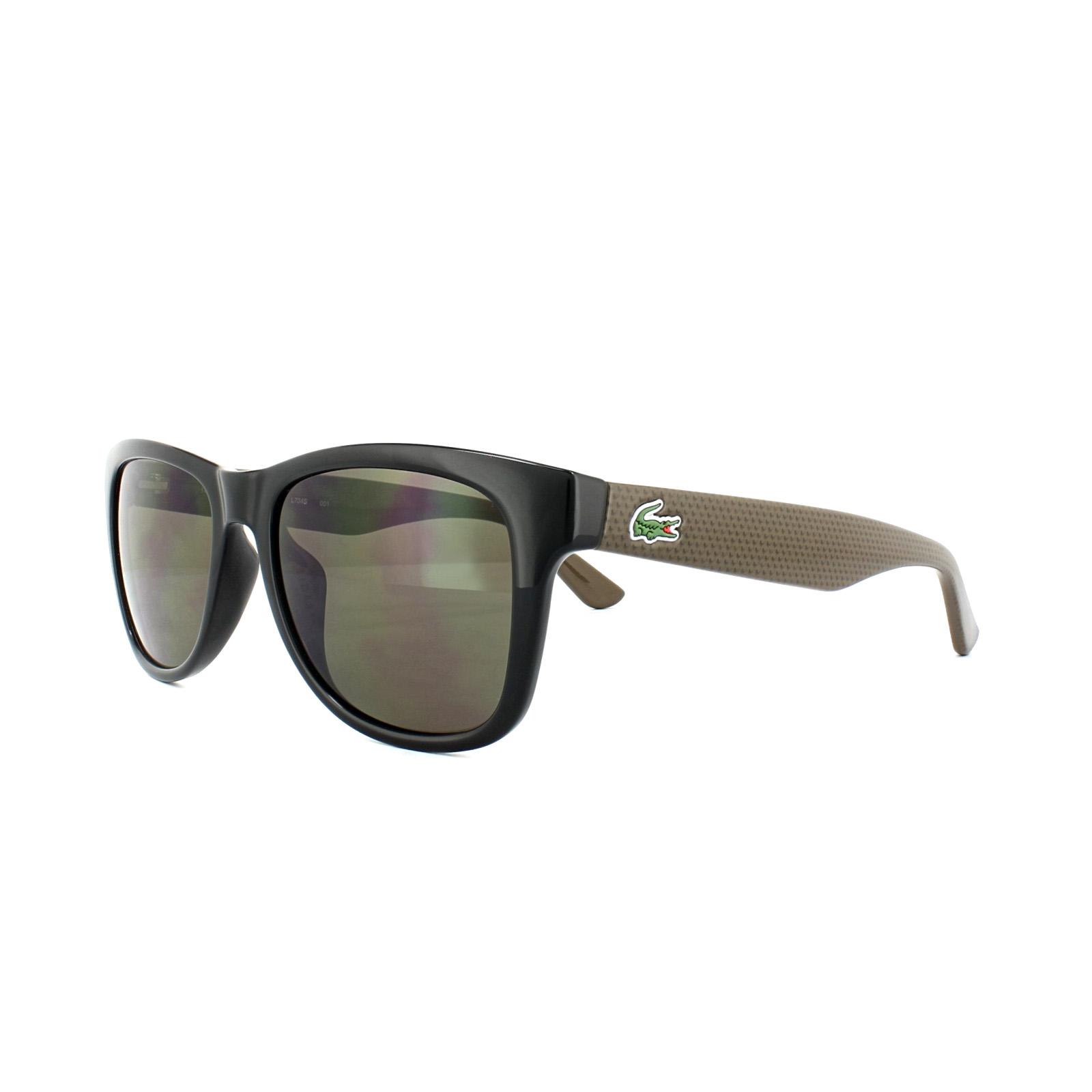 7f02b4c7b25 Lacoste Sunglasses L734S 001 Black Brown Grey Gradient 883121973480 ...