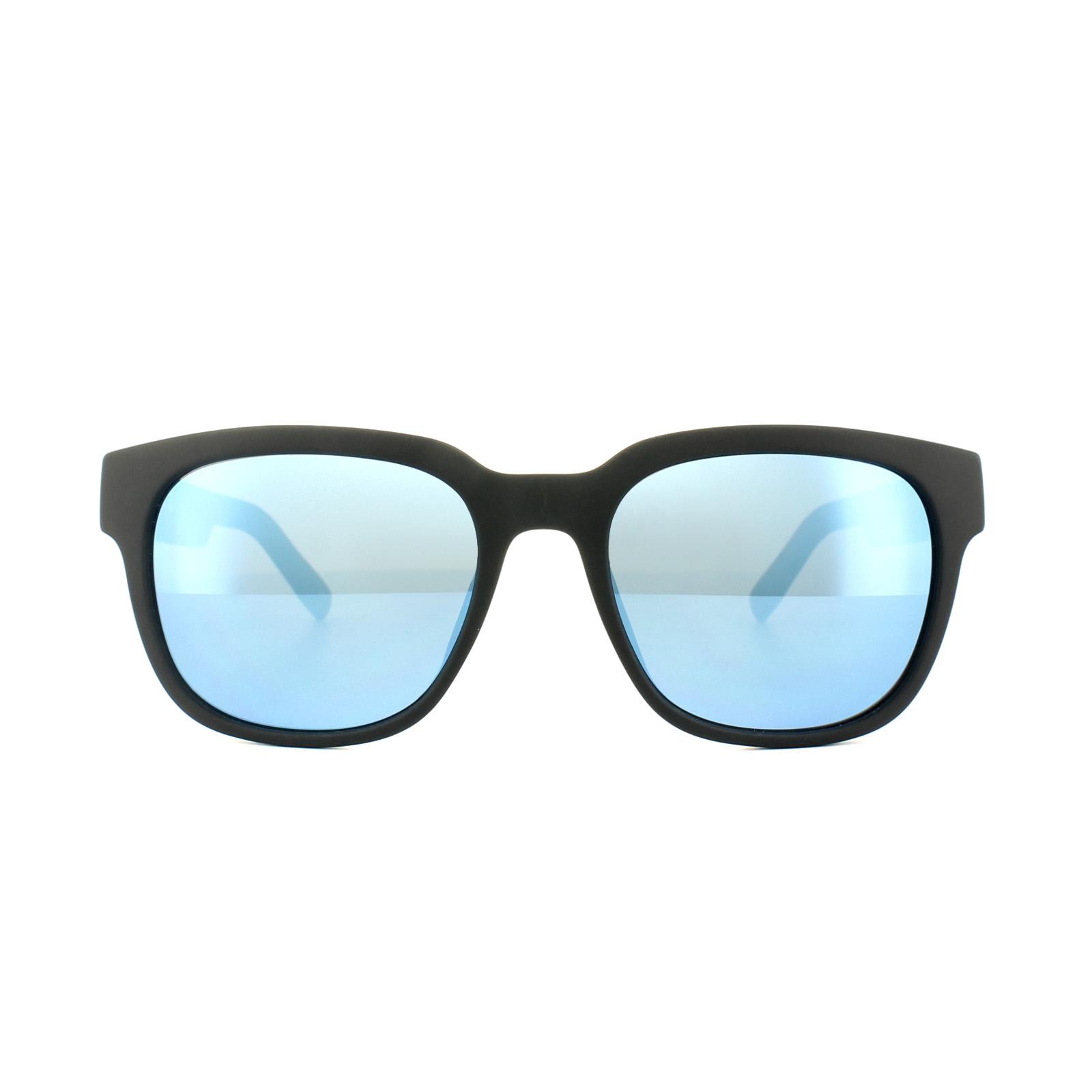 Lacoste Sunglasses L830S 001 Matt Black Blue Mirror 886895279635  99d7b72cb5a1
