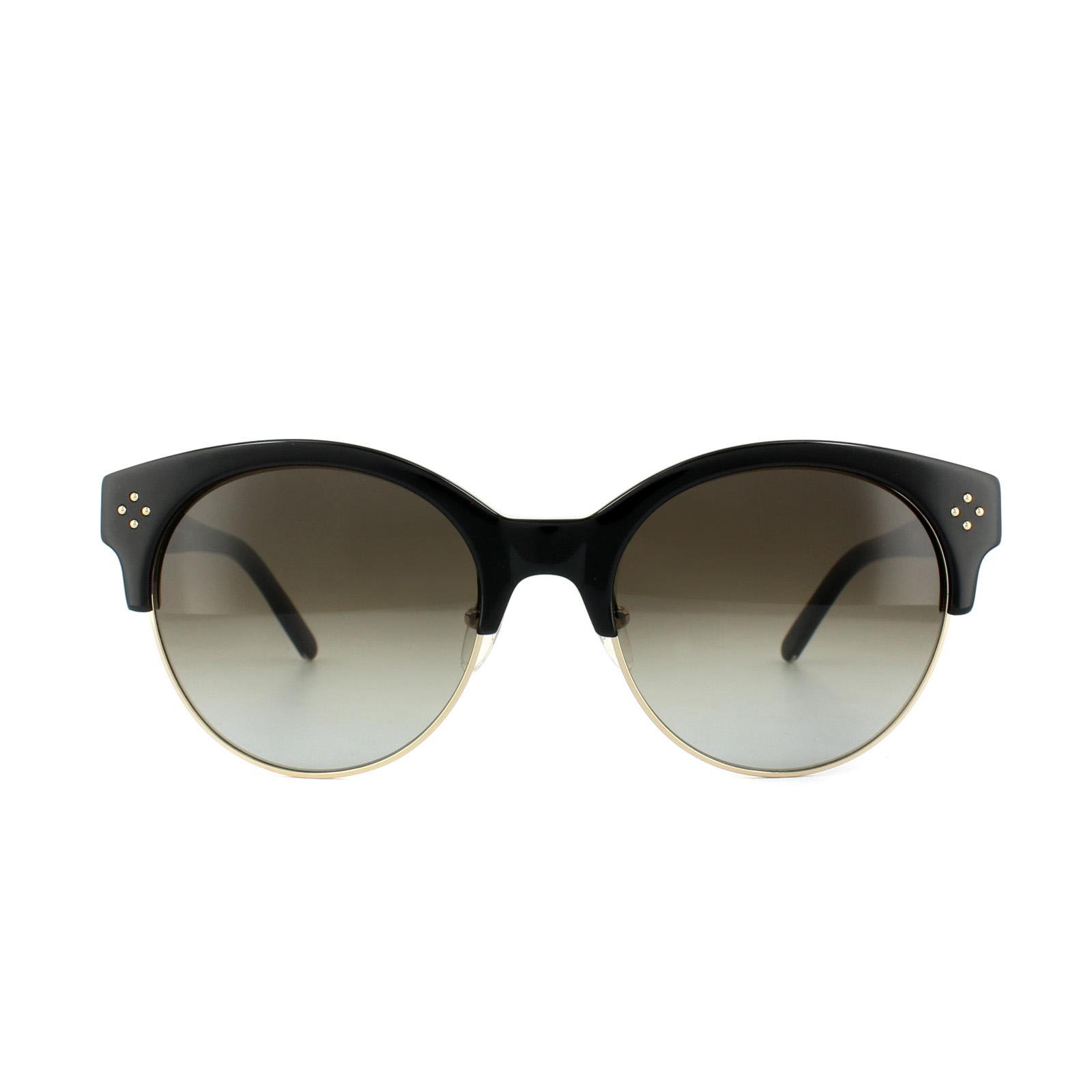 475f271a691 Sentinel Chloe Sunglasses CE704S Boxwood 001 Black Gold Grey Gradient