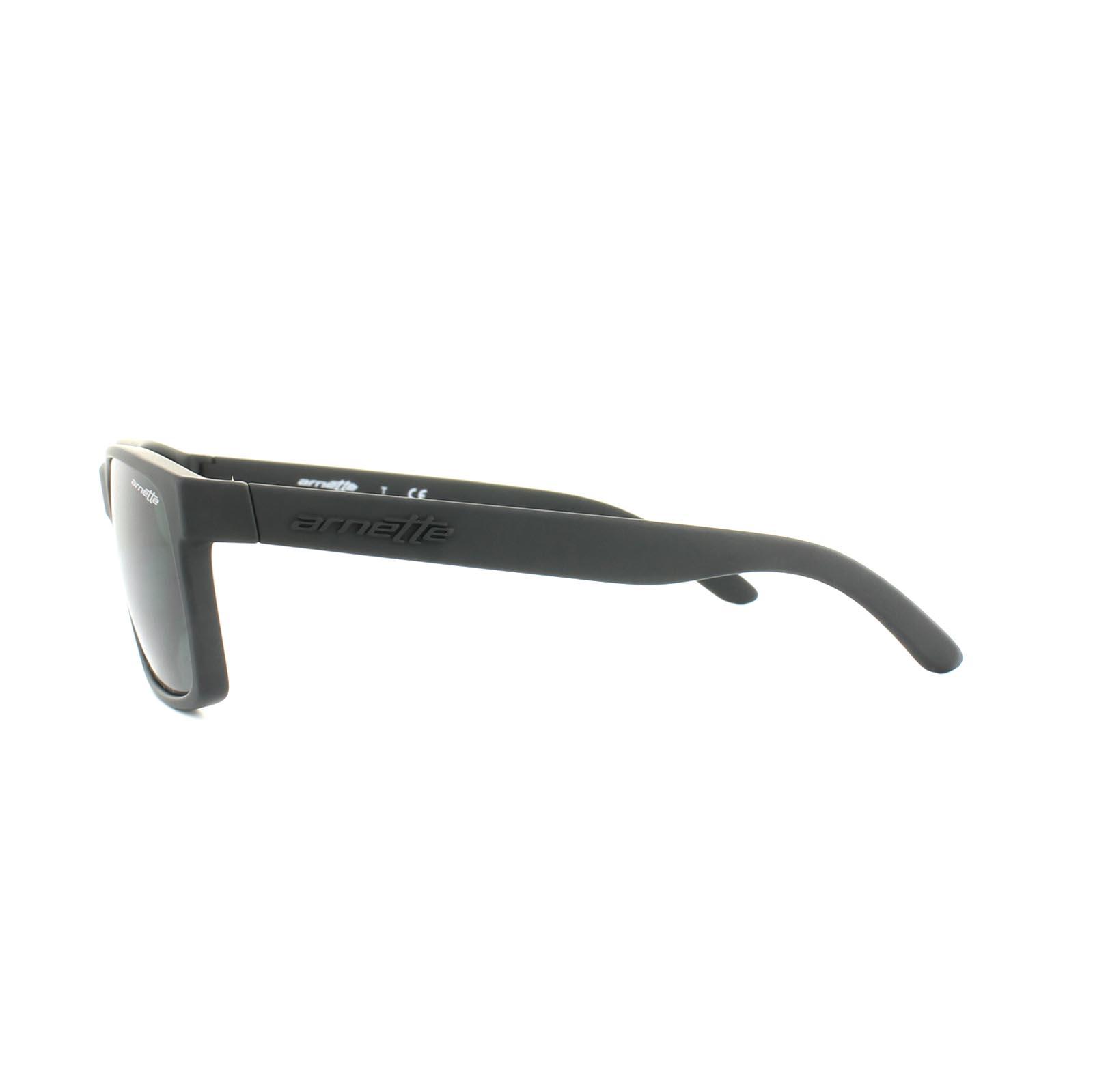 091090fa06 Sentinel Thumbnail 3. Sentinel Arnette Sunglasses Slickster 4185 447 87  Black Rubber Grey
