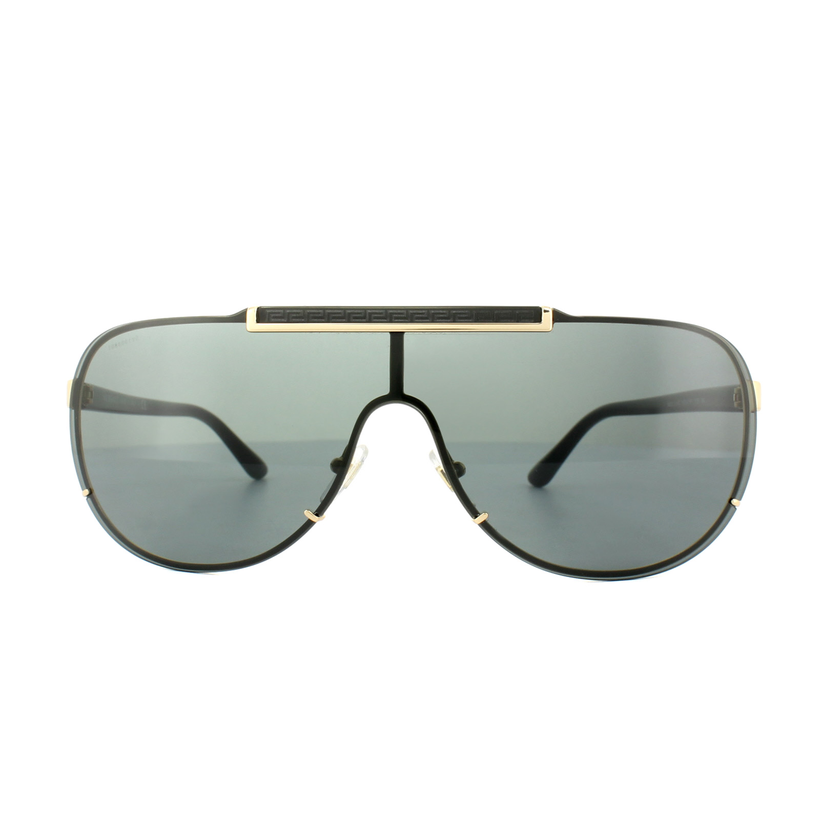 007635753e9e6 Versace Sunglasses 2140 100287 Gold Grey 725125823265