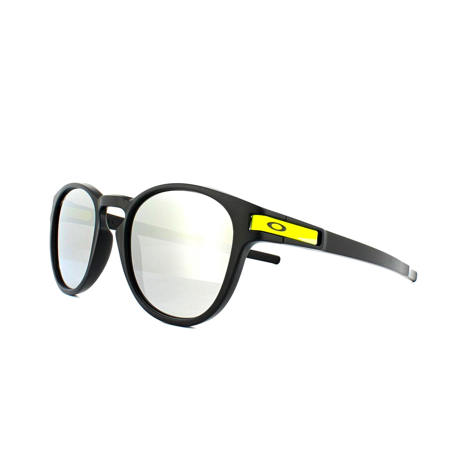 Oakley Herren Sonnenbrille »LATCH OO9265«, schwarz, 926521 - schwarz/grau