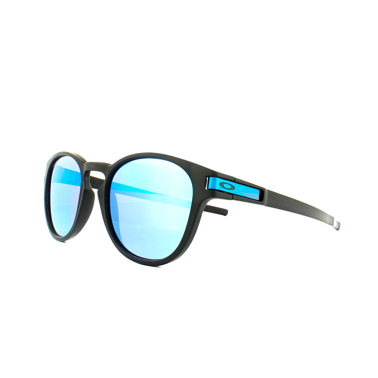 a3e9afb8606cb Sentinel Oakley Sunglasses Latch OO9265-30 Matt Black Prizm Sapphire