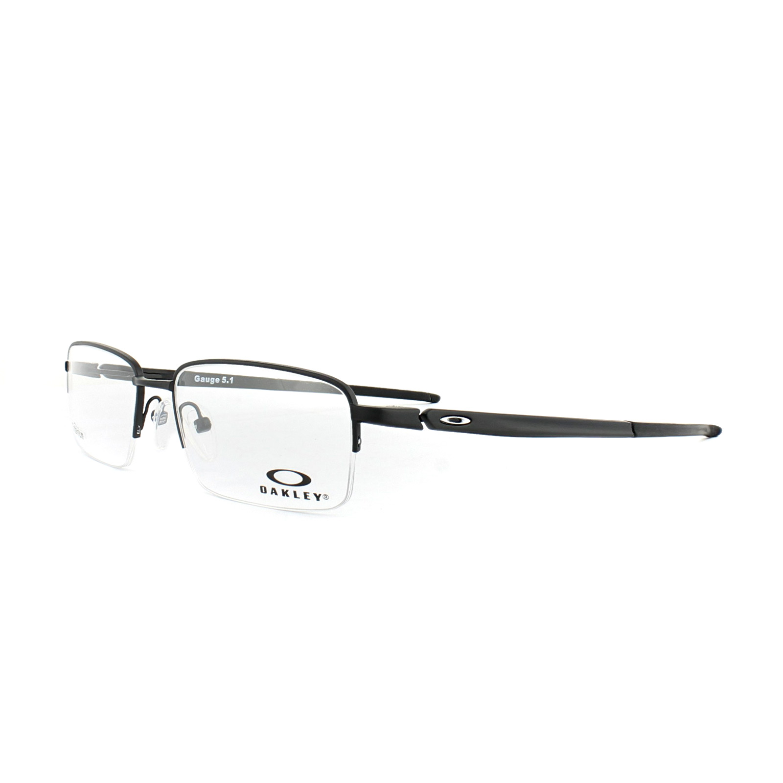 Oakley Monturas De Gafas Medidor 5.1 ox5125-01 54 NEGRO MATE HOMBRE ...
