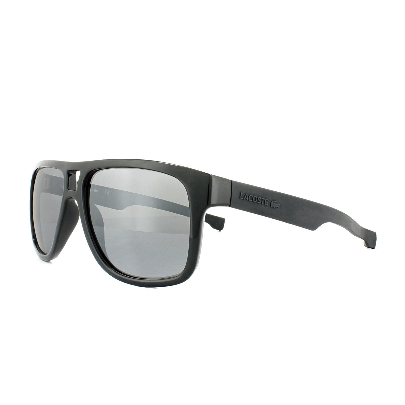 c7dce832578d Lacoste Sunglasses L817S 001 Black Grey Gradient 886895264471