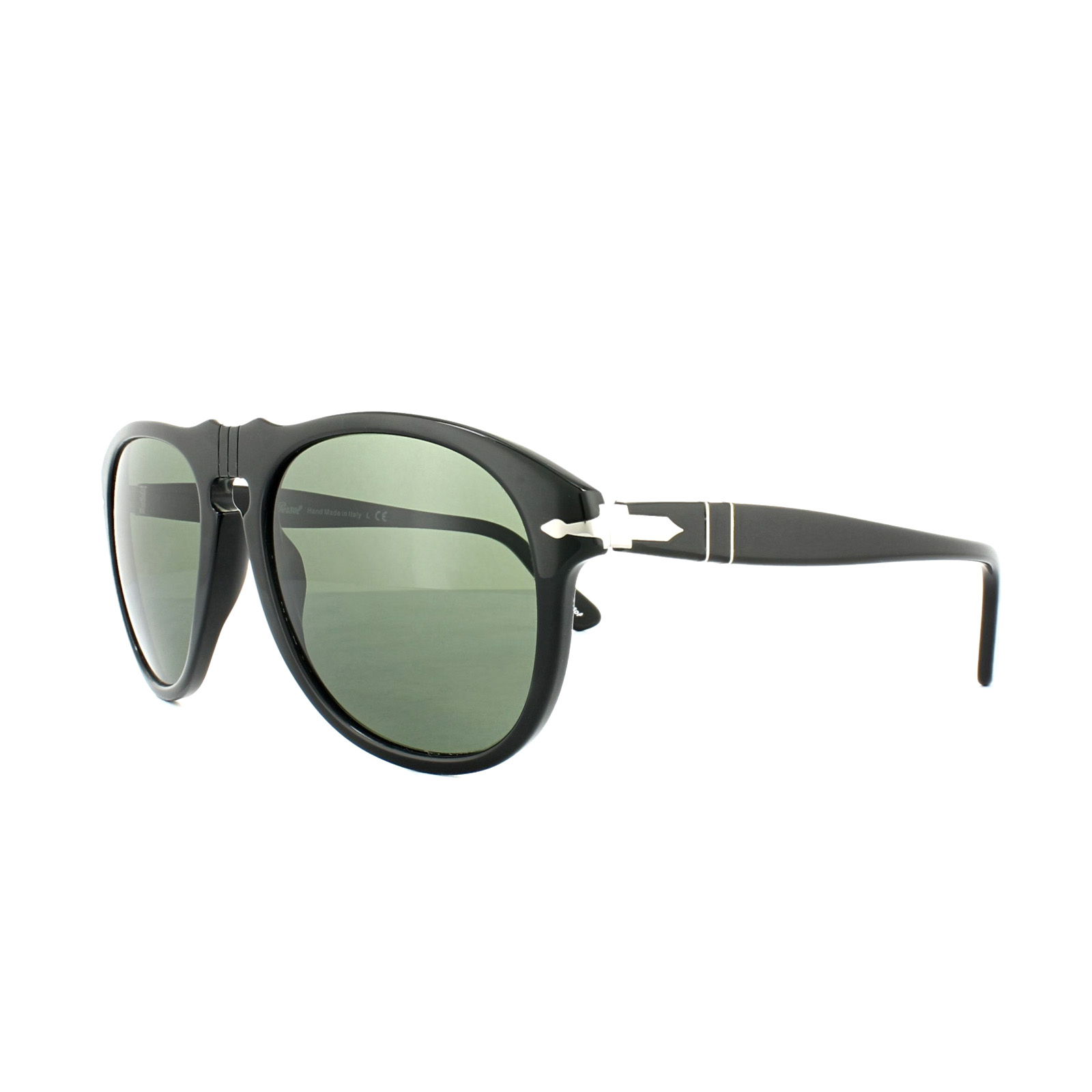 3919765dff Persol Sunglasses 0649 95 31 Black Green 56mm 713132003558