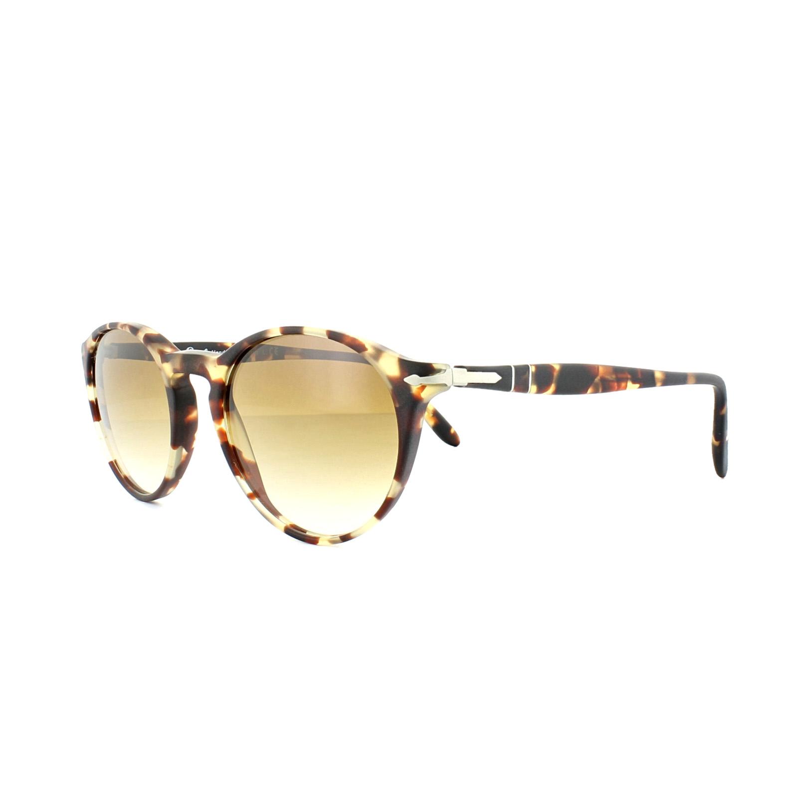 acd5e36bf086d Sentinel Persol Sunglasses 3092SM 900551 Tabacco Virginia Antique Brown  Gradient
