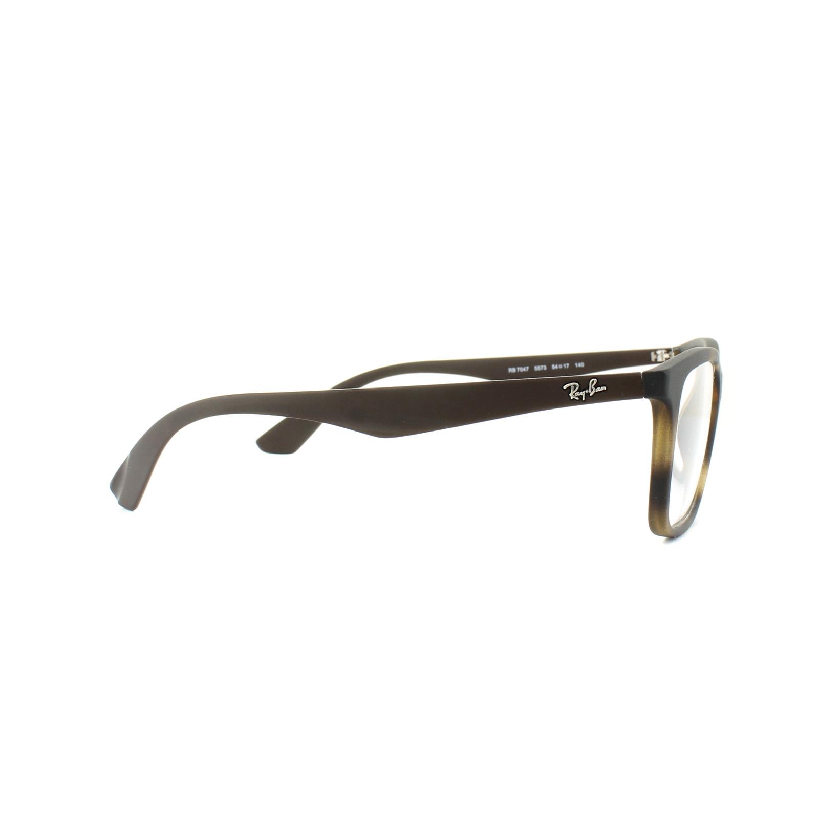 36efc9e92c Ray-Ban Glasses Frames 7047 5573 Matt Havana Mens 54mm 8053672496864 ...
