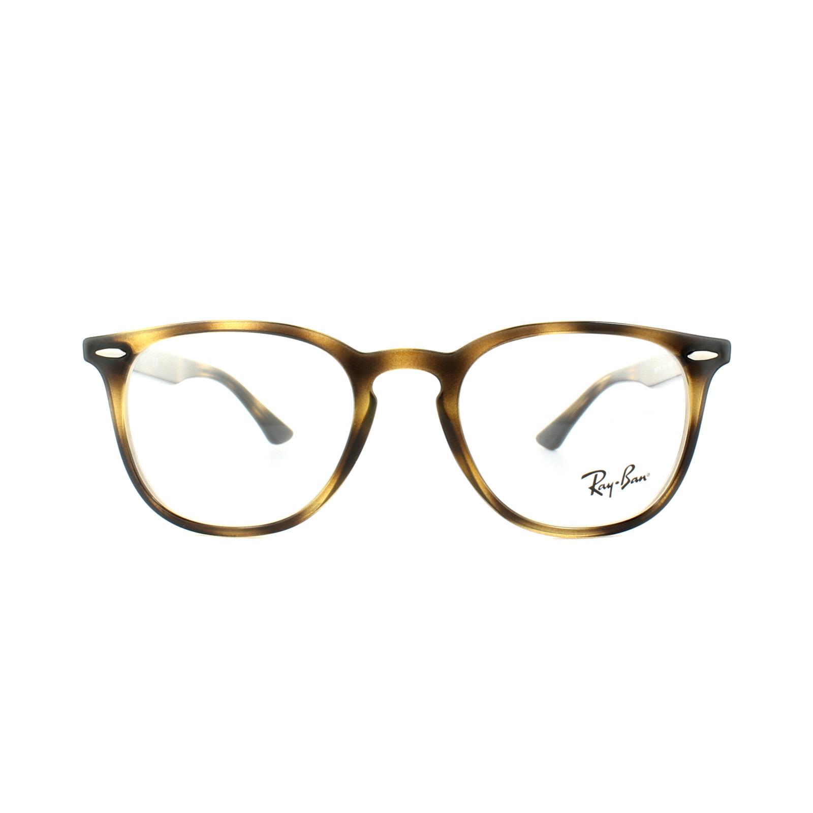 f6aa695cd82 Sentinel Ray-Ban Glasses Frames 7159 2012 Havana Mens Womens 50mm
