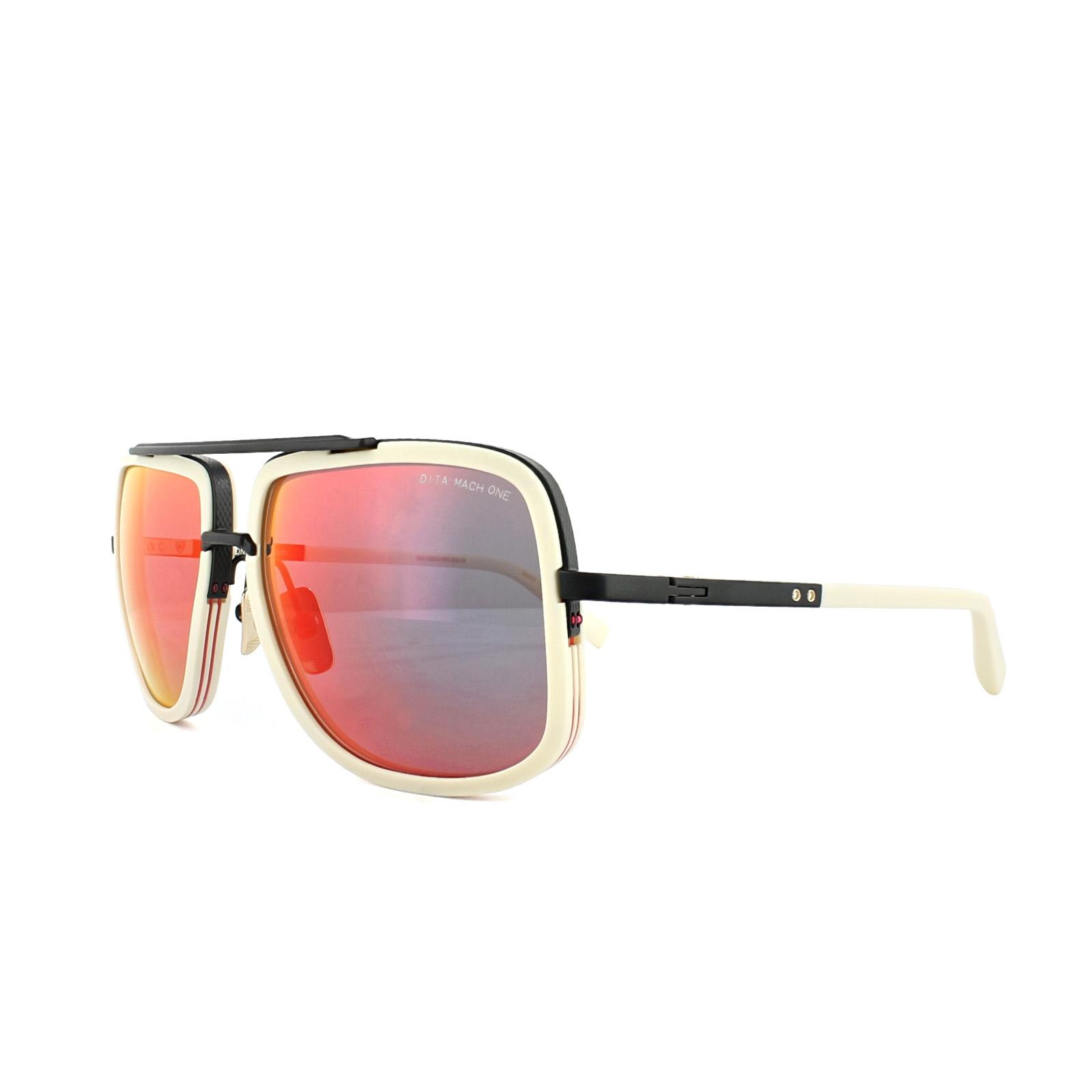 958e357516b6 Dita Sunglasses Mach-One DRX-2030-K-59 Matt Bone Matt Black Grey ...