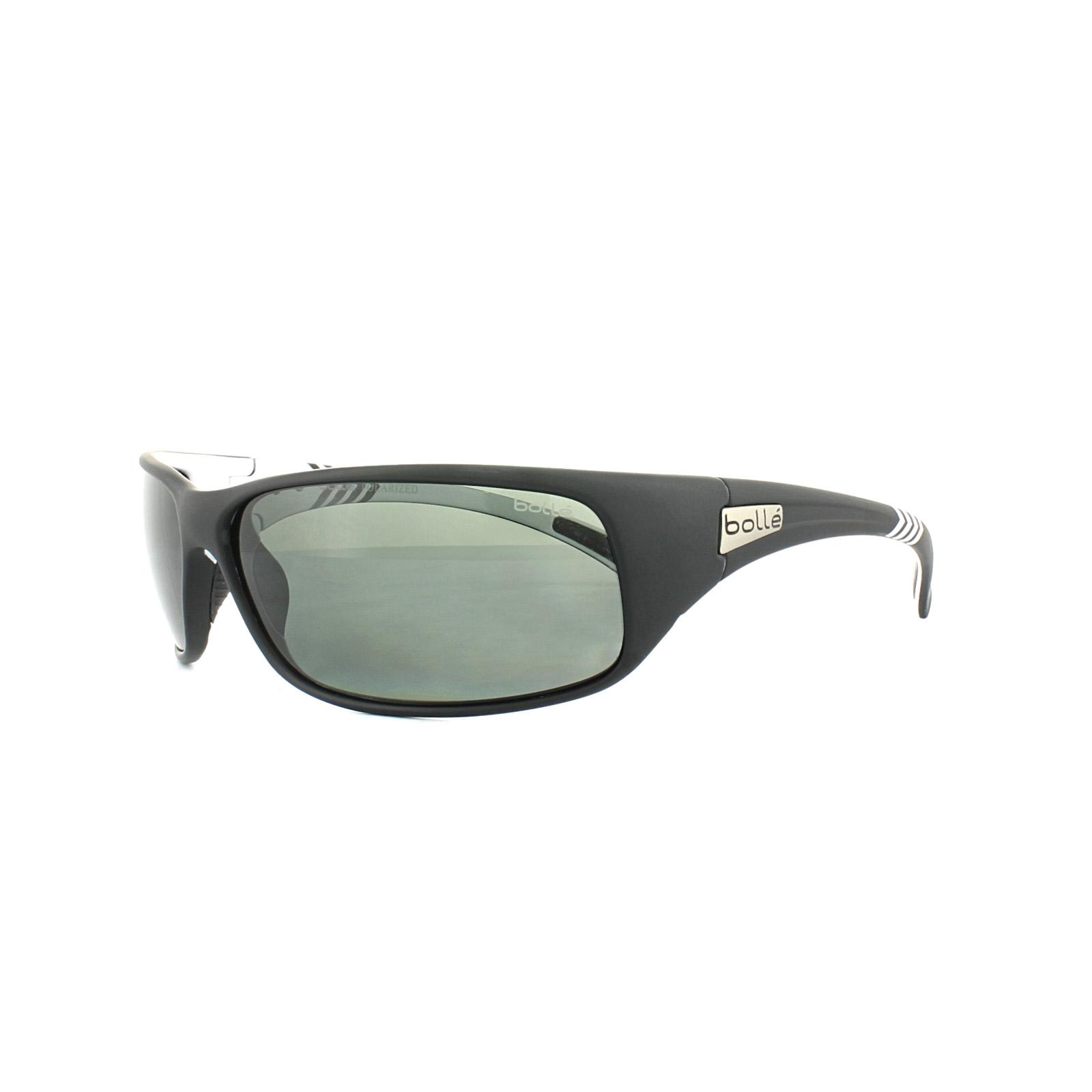 16aa26e1bdc Sentinel Bolle Sunglasses Recoil 11808 Matt Black White Arrow TNS Grey  Polarized